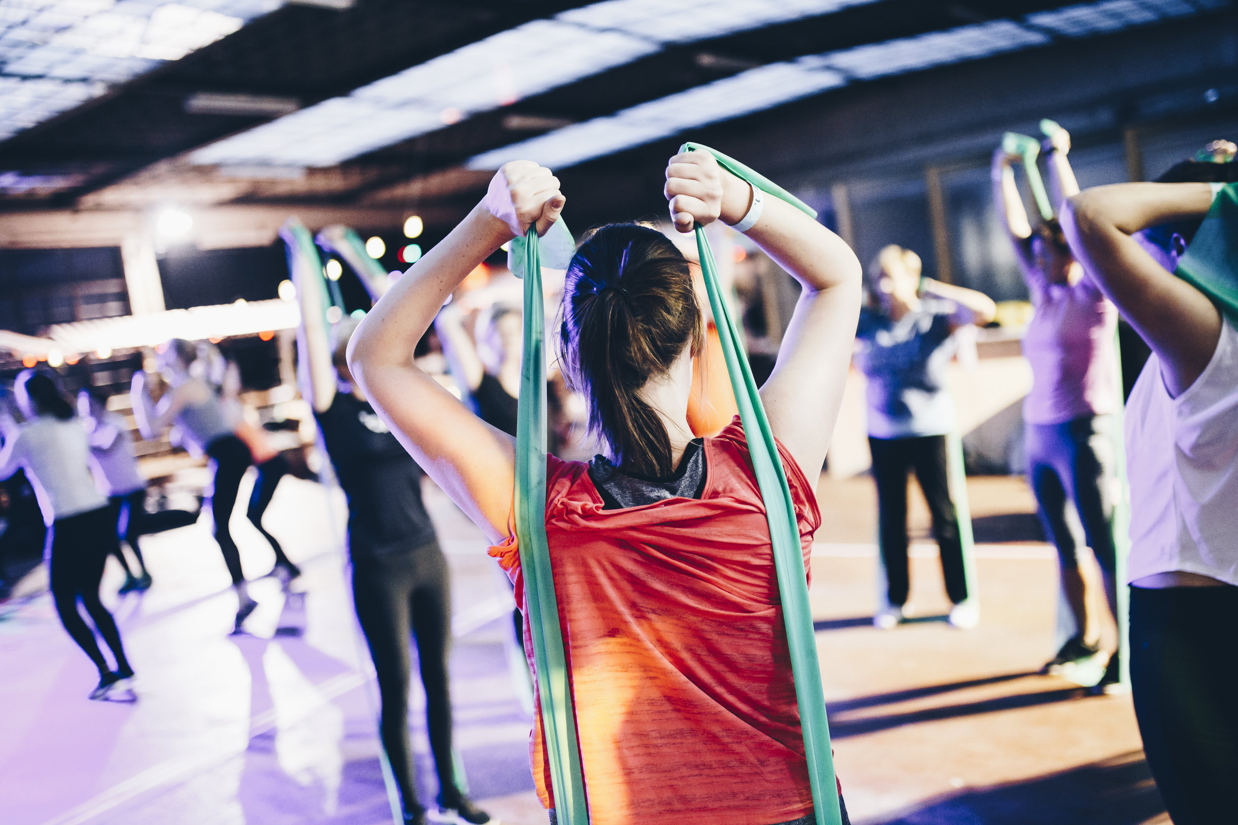 Group Fitness Classes - - Dynamic & Engaging Programming- Scalable To All Body Shapes & Sizes- 100% Judgement Free Zone- Supportive Community To Win Goals