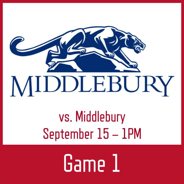 vs. Middlebury   VIDEO