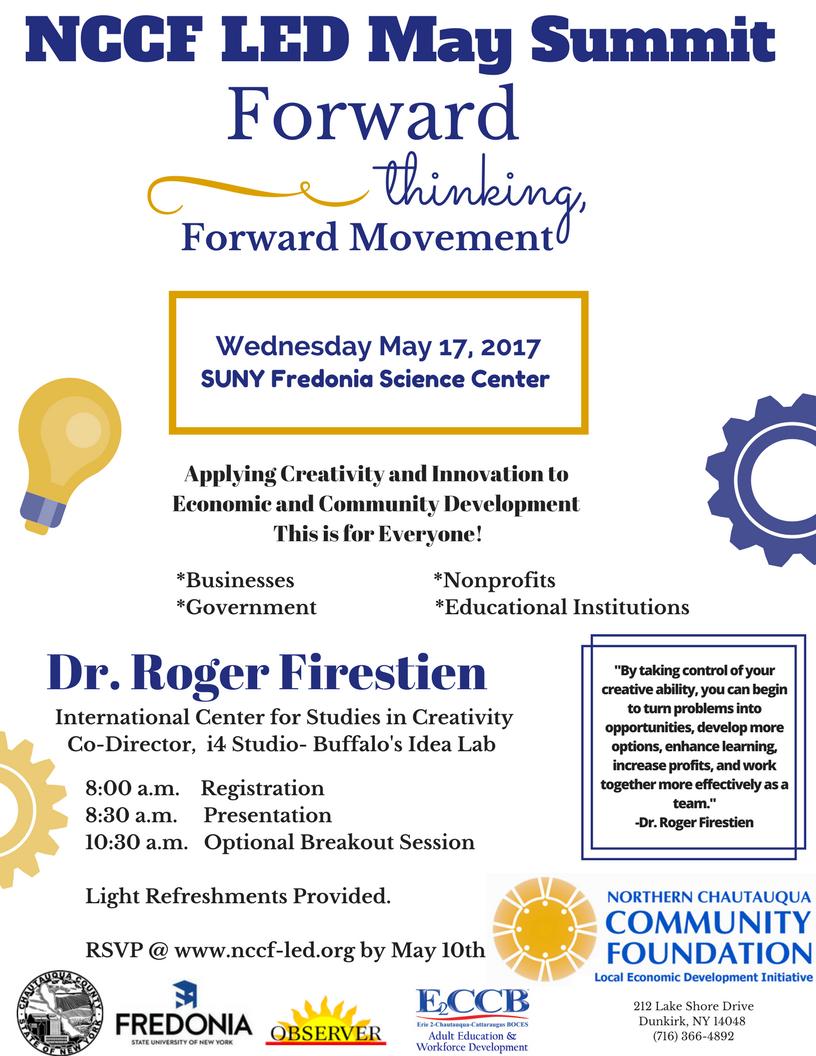 More on Speaker Dr. Roger Firestien -