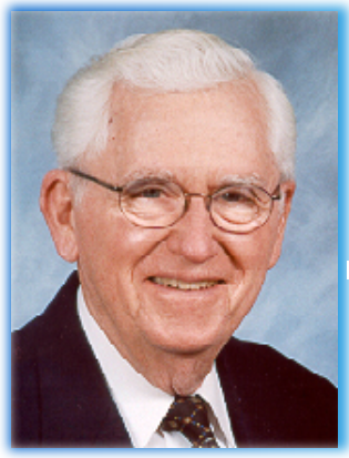 2003 - Dr. Dallas Beal - Dr. Dallas Beal grew up in Newcomersville, Ohio and earned his B.S. and M.A. from Ohio State and an Ed.D. from Columbia University's Teacher's College. He served in the Navy from 1944 until 1946 and came to SUNY Fredonia in 1958 to head up the Education Department.Beal became the Director of Education for SUNY Fredonia in 1958 and was promoted to President of the College in 1972, a position he held until 1984. Dr. Beal not only had a huge impact on SUNY Fredonia during his time as president, but was also an active community member.Beal took a particular interest in causes such as the Roger Troy Peterson Institute, the Northern Chautauqua Chamber of Commerce, Brooks Memorial Hospital, WNED, the Salvation Army and the First United Methodist Church of Fredonia. His impact on both the university and the northern Chautauqua community as a whole made him an excellent recipient of the Footprints Award.