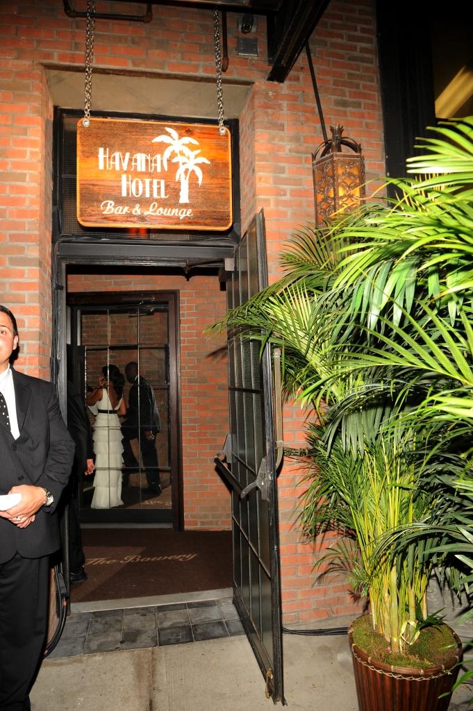 4. Havana Hotel Entrance, marc anthonmy 40th birthday, bowery hotel.jpg