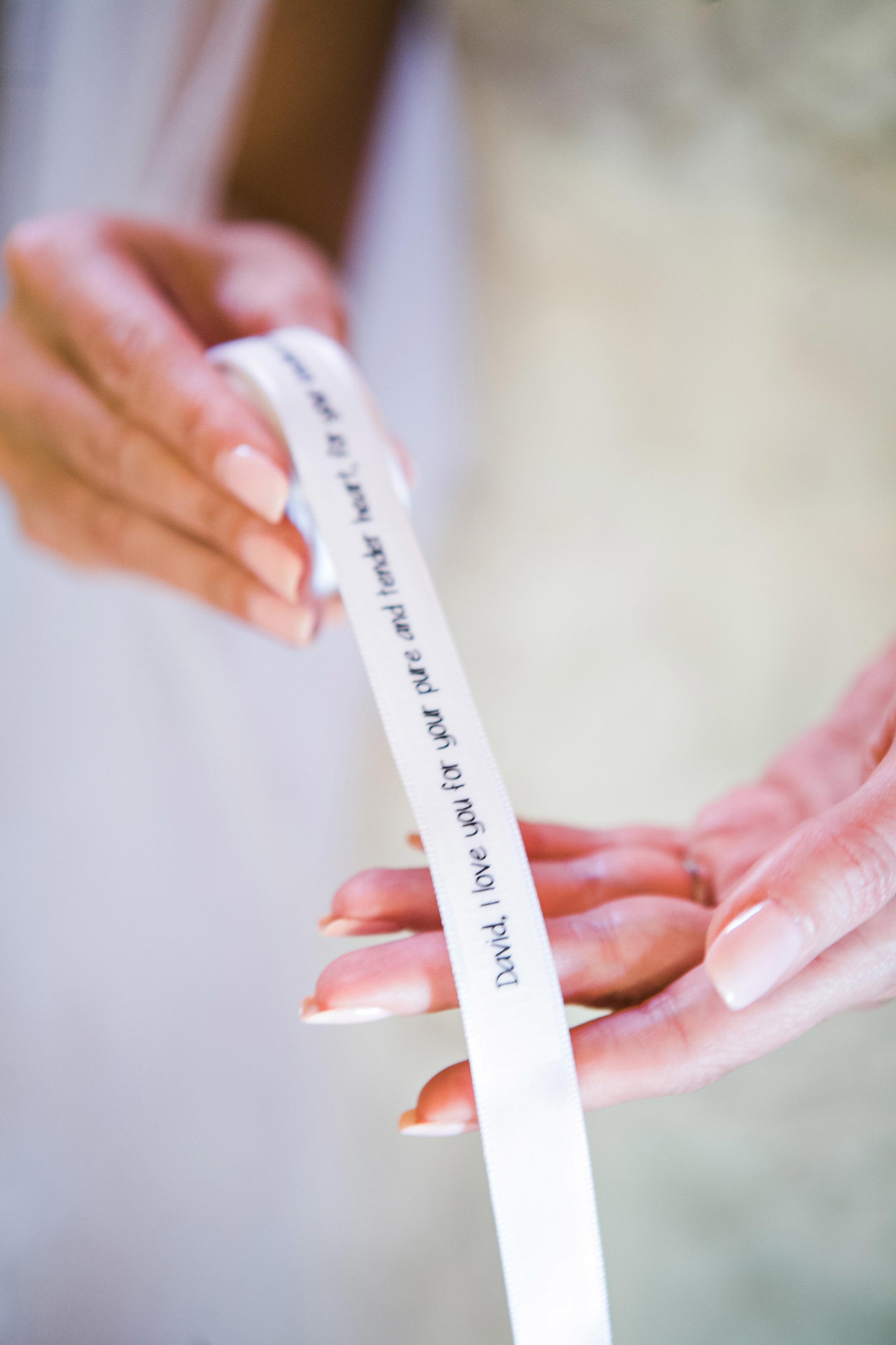 08. LS- ceremony vows, vows of ribbon, napa wedding, vineyard ceremony, ceremony vow display.jpg