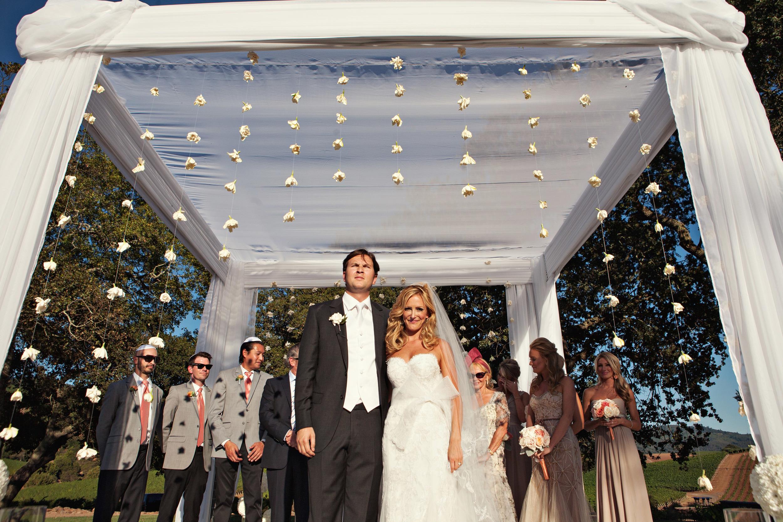 09. hanging flowers, gorgeous chuppah, hanging gardenias, vineyard ceremony, napa wedding.jpg