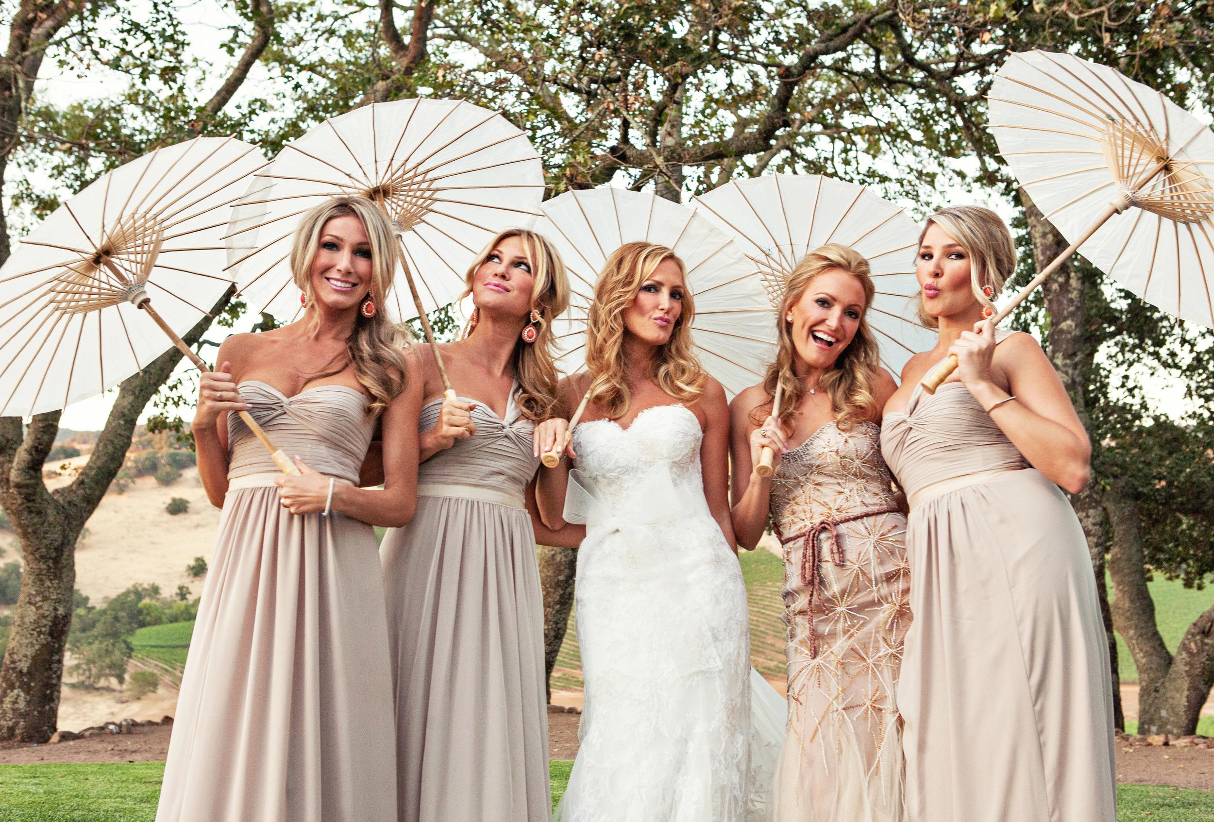 20. vineyard ceremony, summer wedding, wedding parasols, artsy bridesmaids+bride pictures.jpg