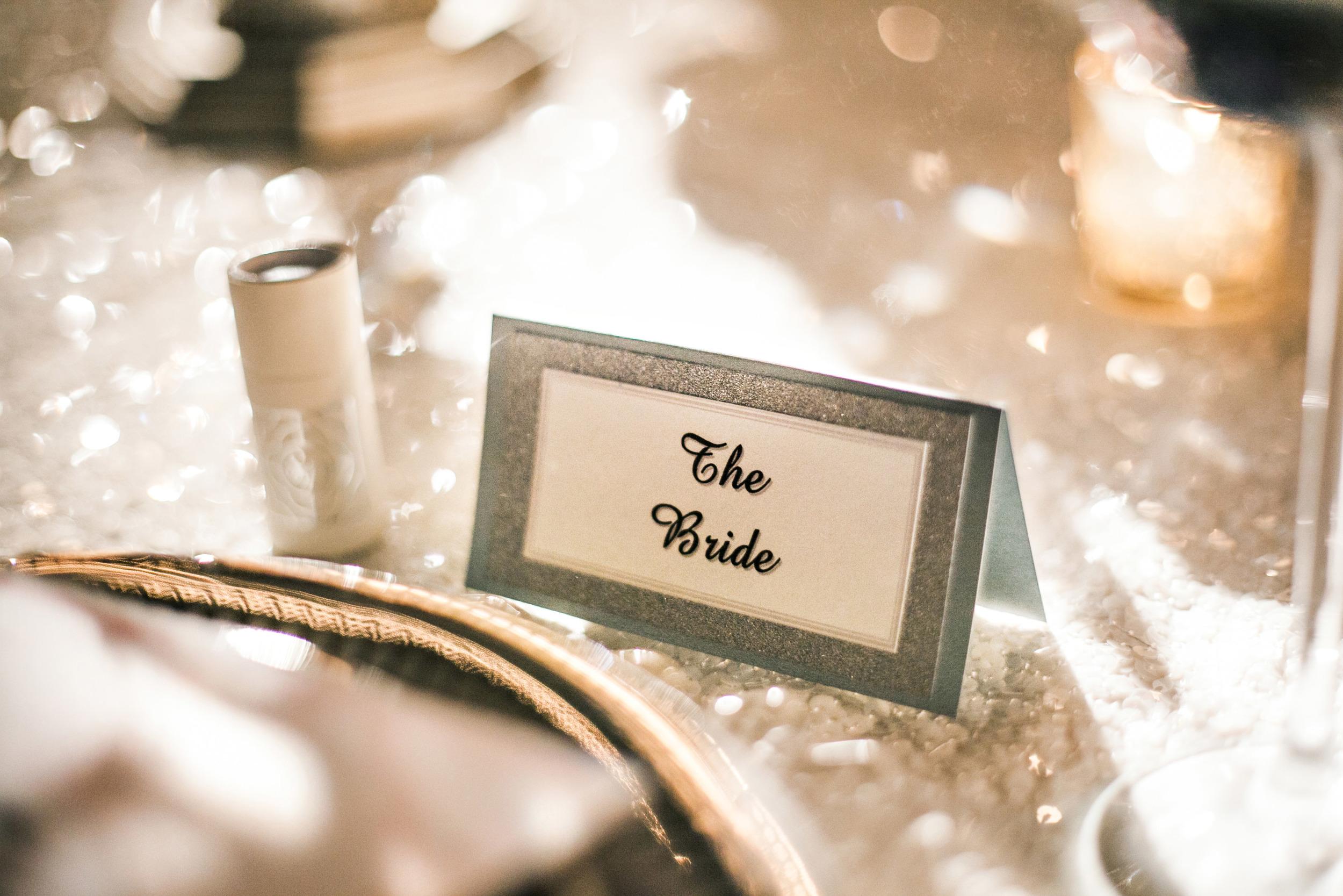 41. sparkle wedding, sparkle place cards, sequin wedding, goregous place cards, white + silver wedding, monogram matches, wedding matches.jpg