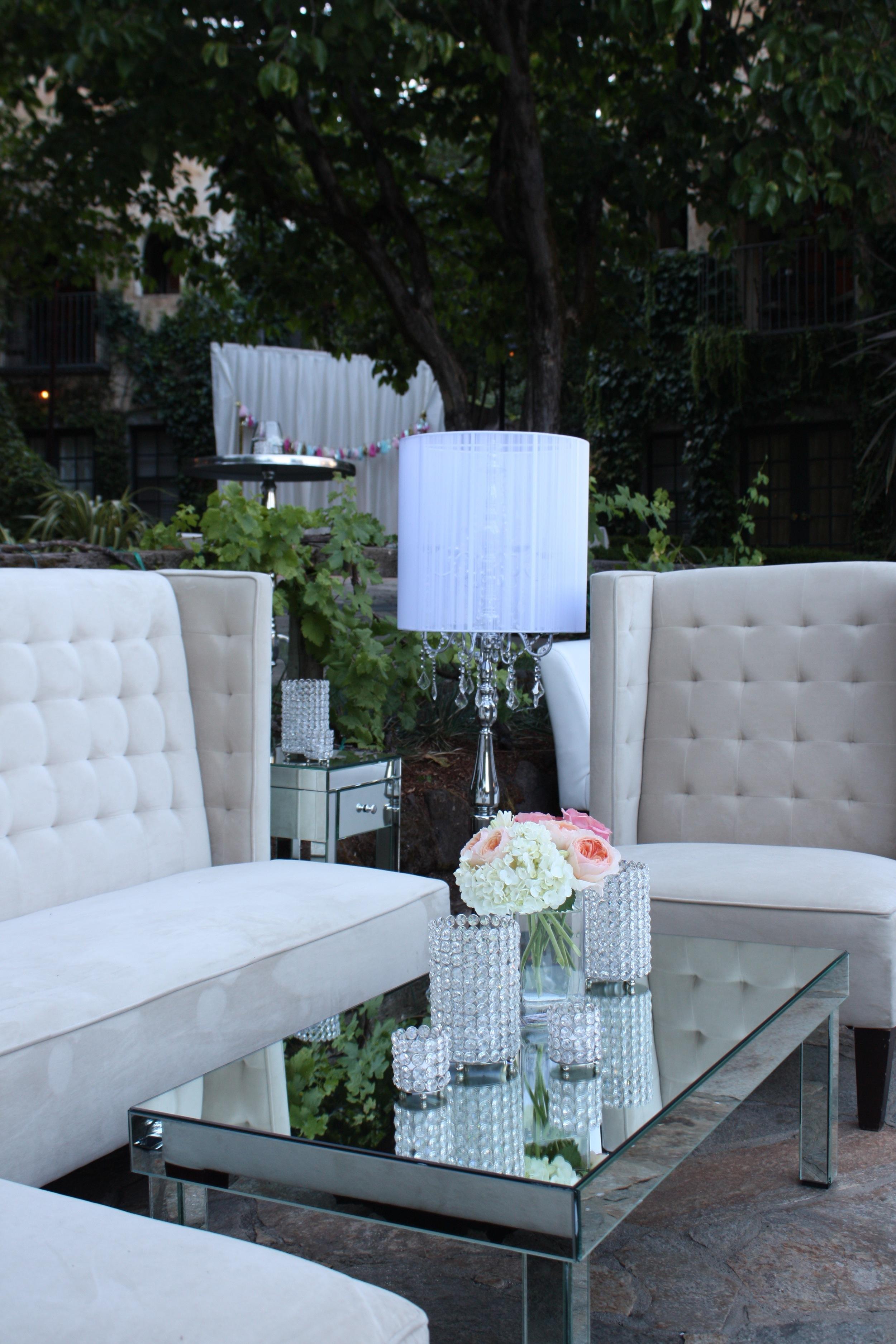 44. LS - wedding lounge, modern romantic wedding, summer wedding, crystal tea lights, mirrored tables, gorgeous wedding decor, sparkle wedding.jpg