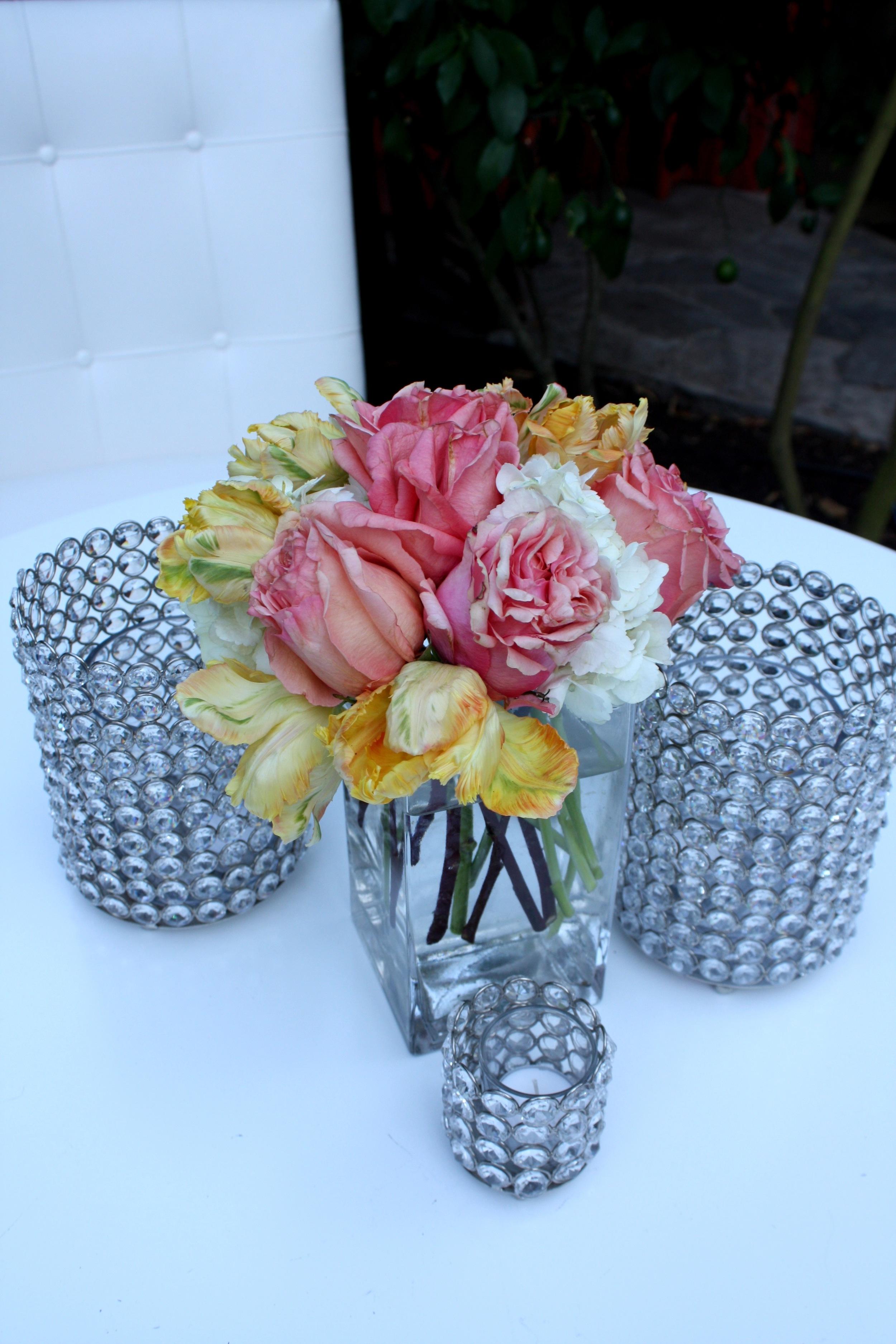 44.RS - crystal tea lightsm sparkle wedding, gorgeous wedding decor, peach + coral weddingm summer wedding, .jpg