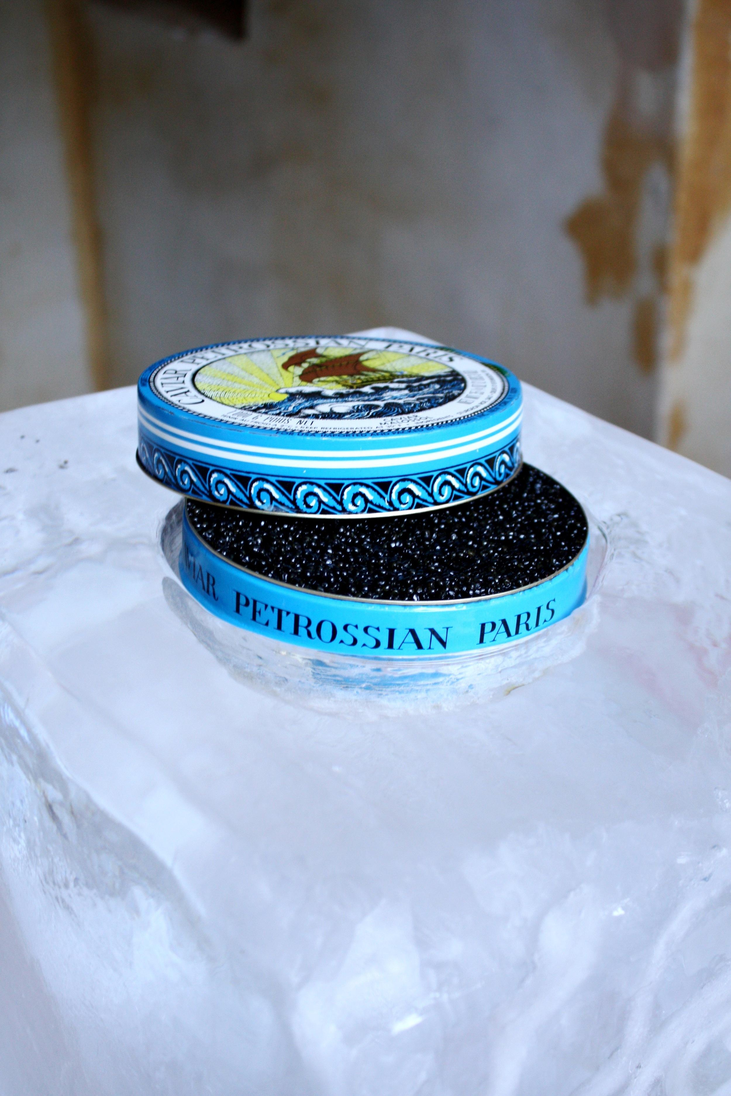 48. LS - caviar display, custom ice blocks for caviar, cocktail hour ideas, ice sculptures, wedding caviar bar .jpg