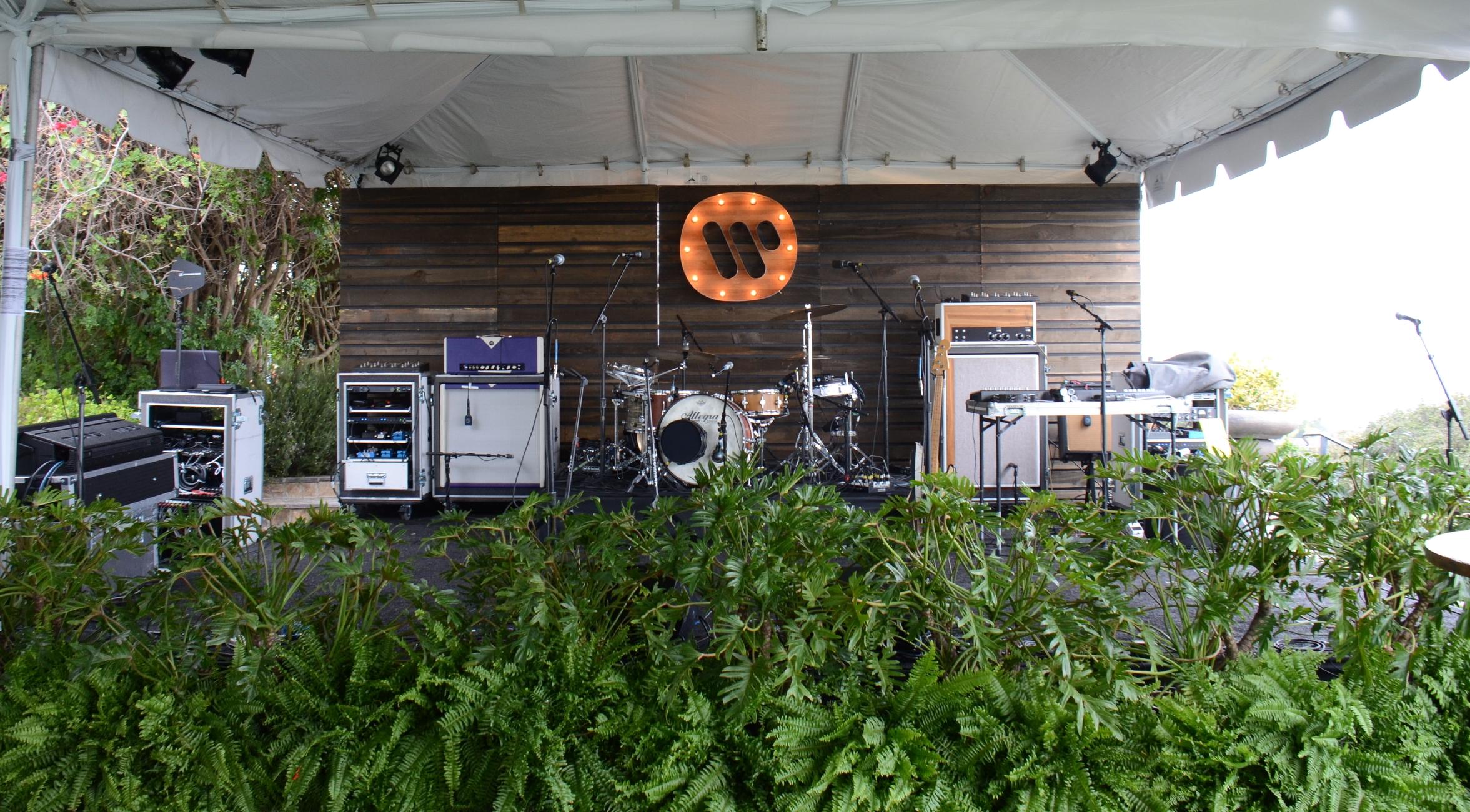 WMG Pre GRammy Stage.JPG
