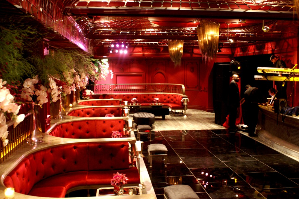 the darby, red+black+pink event lounge, pink+white orchids, red velvet booths, black plexi dance floor, mirrored lounge furniture .JPG