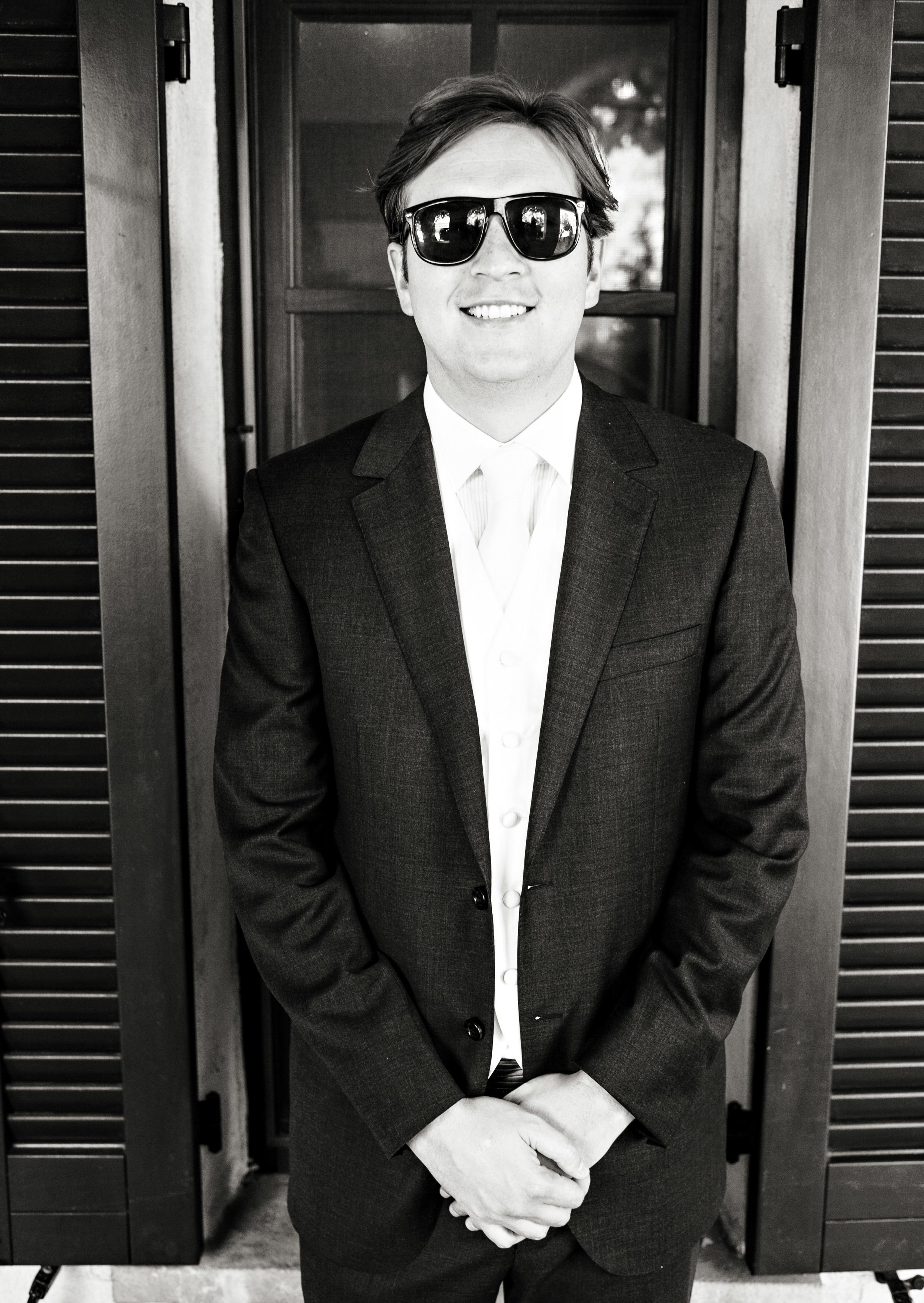 N Groom Sunglasses Sonoma Wedding.jpg