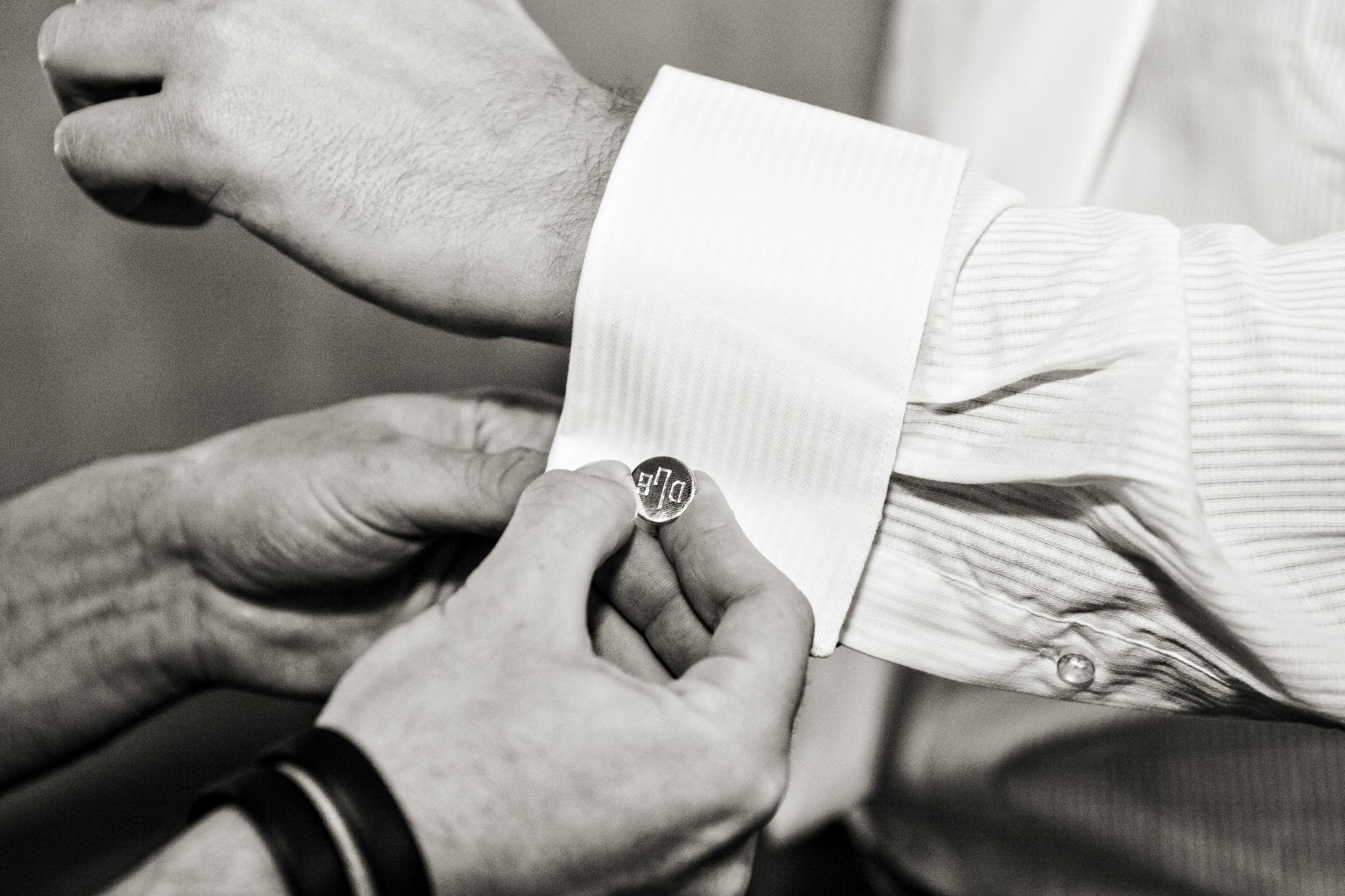 N Grrom Cufflinks Sonoma Wedding.jpg