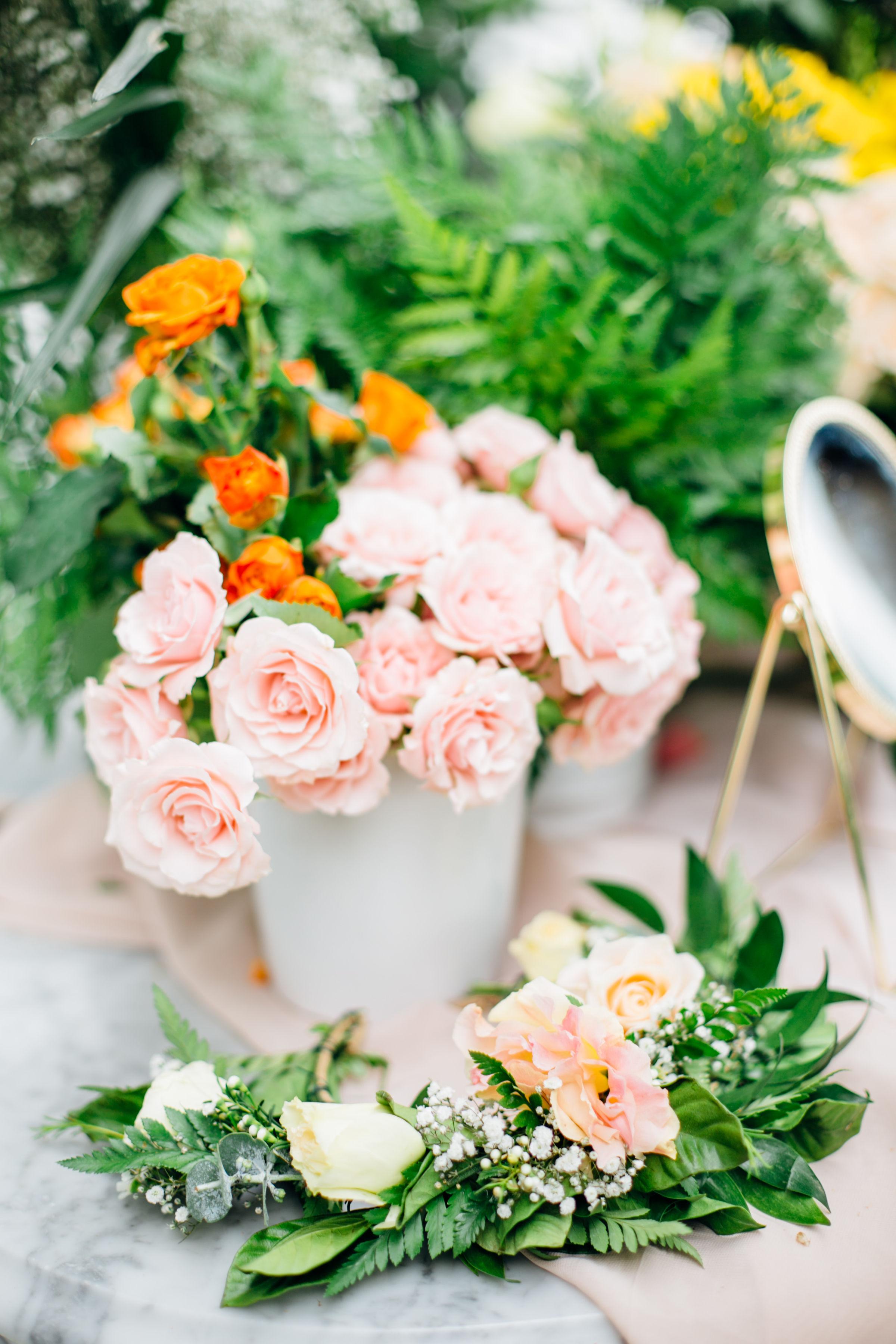 pink floral crown set up.jpg