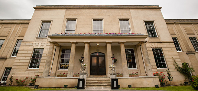 Newland Park Manor, currently operating as a wedding venue. The rest of the site operates as a language school.