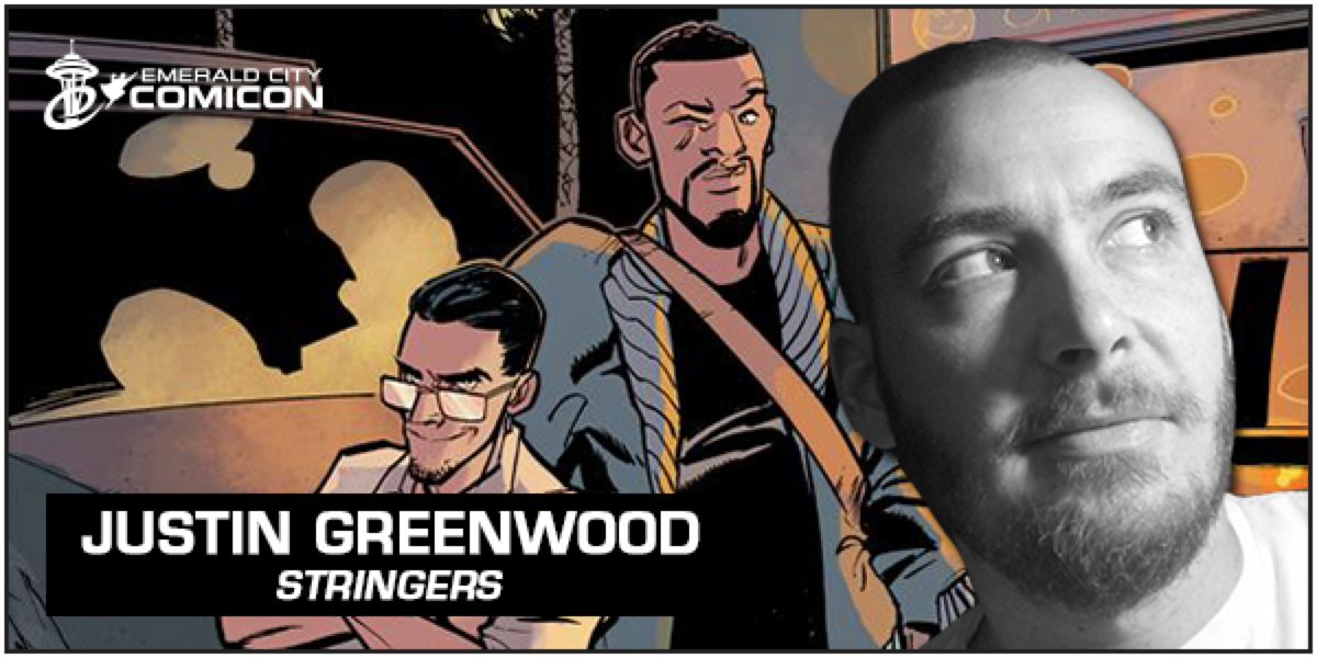 emeraldcitycomicon :     Justin Greenwood, known for his work on Stringers and The Fuse, joins us at #ECCC:  http://bit.ly/1lYpop2       Super hype to be returning to Seattle in April! If you love comics, this show is not to be missed.