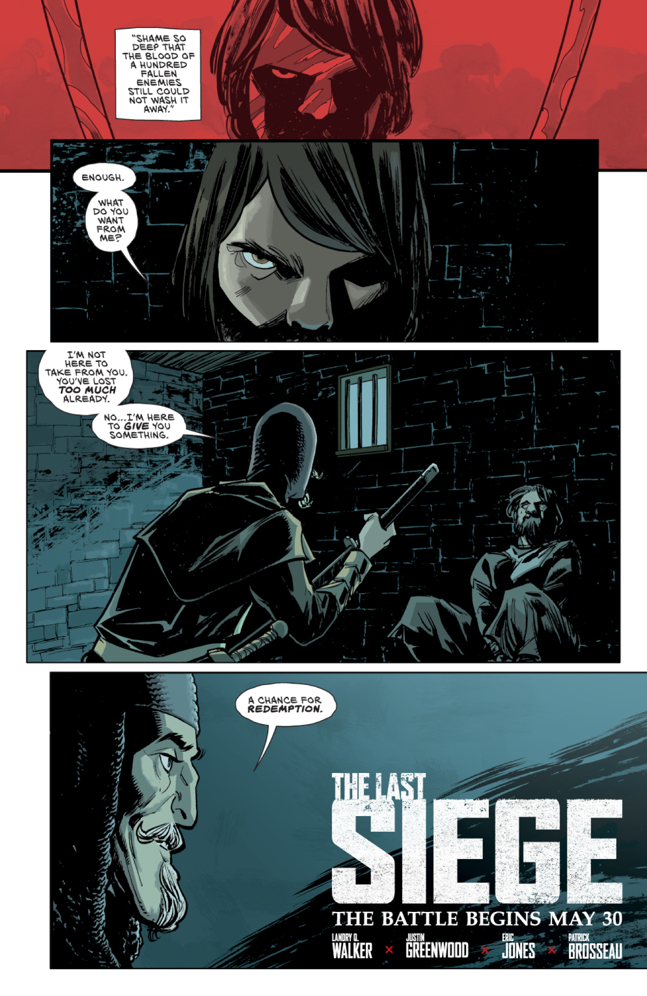 THE LAST SIEGE Prelude colors by Justin Greenwood and Brad Simpson
