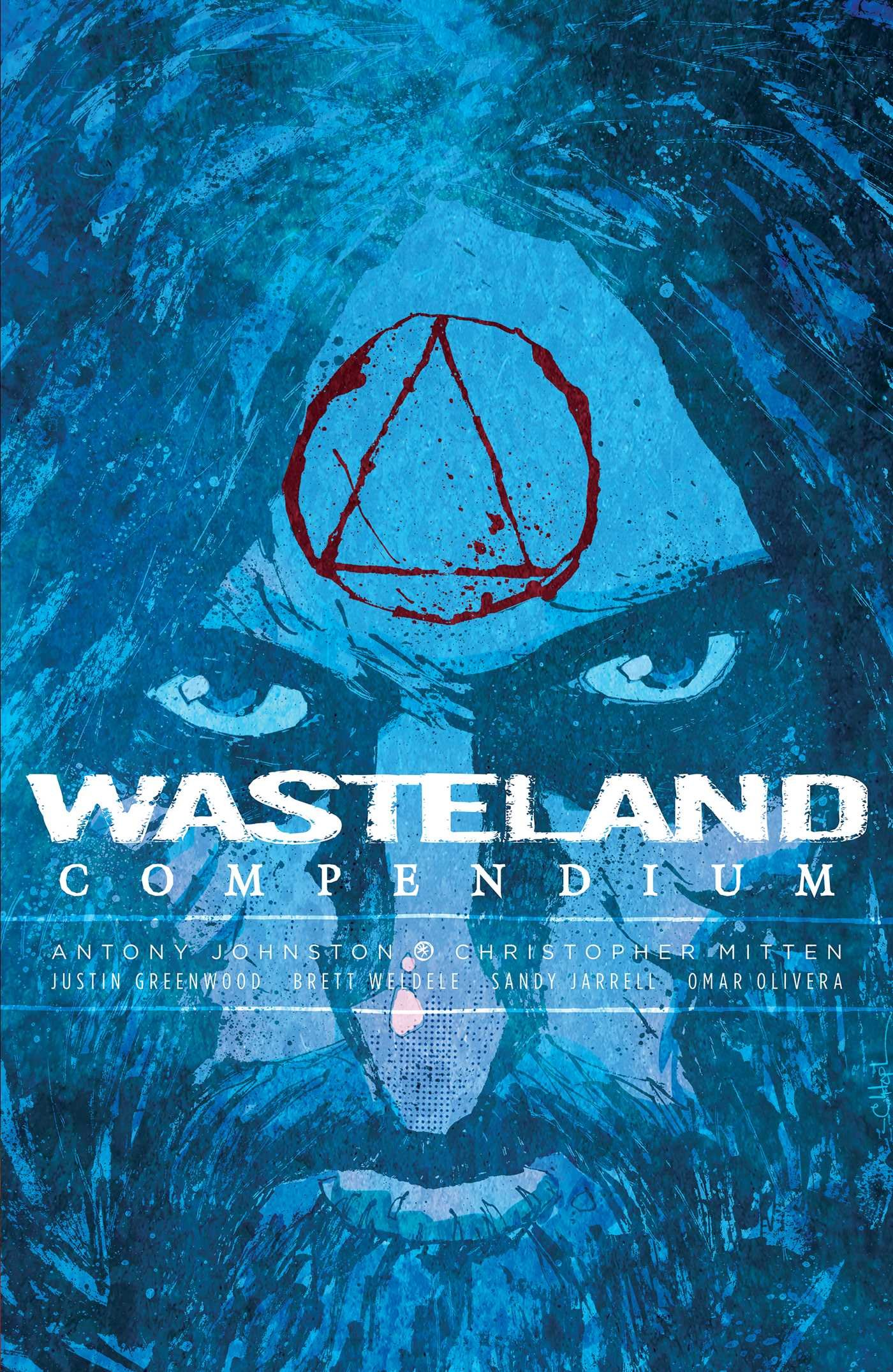 WASTELAND Compendium V2 cover art by Christopher Mitten
