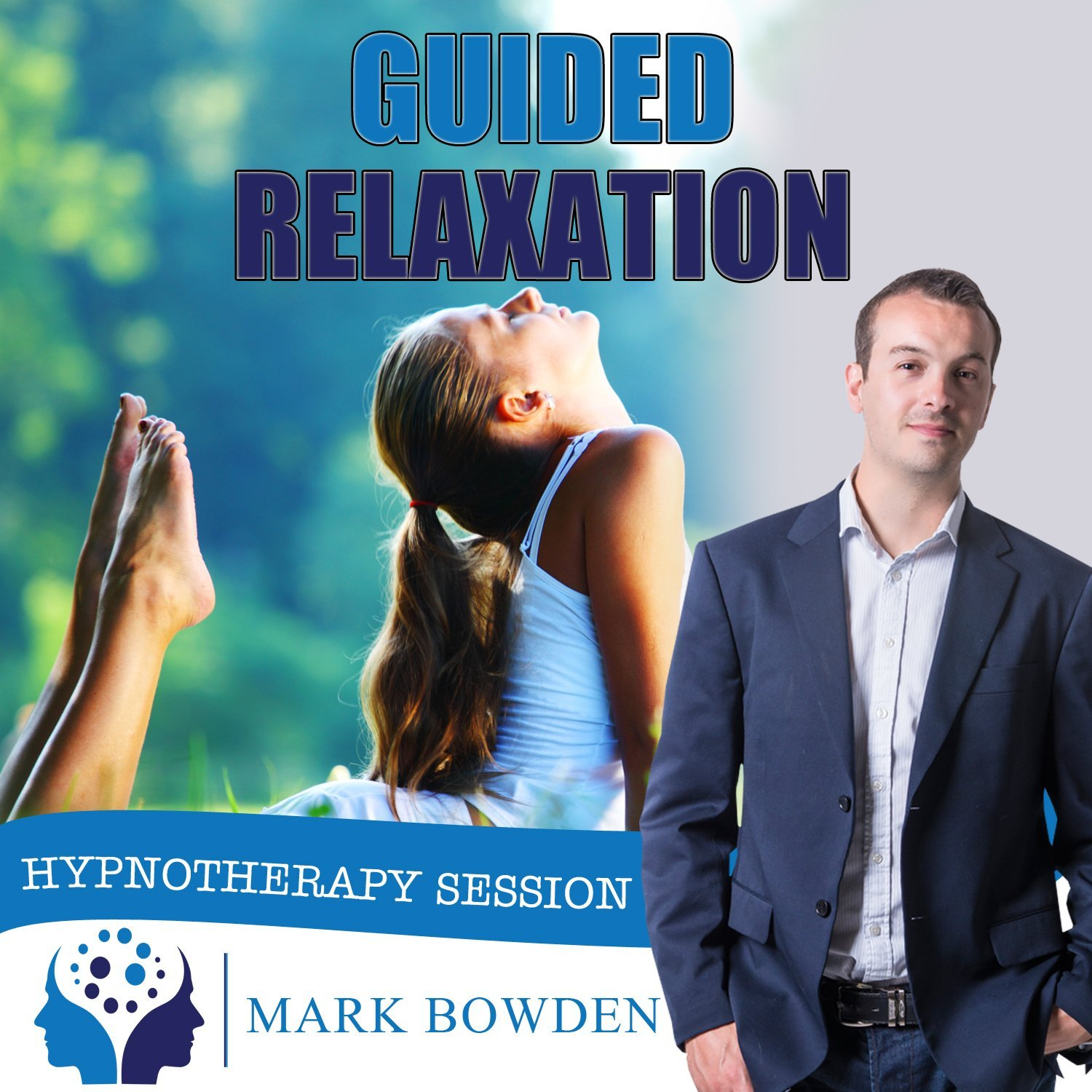 Guided relaxation Hypnosis / Hypnotherapy CD - Alleviate Tension and Stress Relief by Mark Bowden