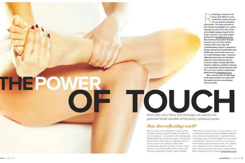 Women & Home 2019 - Power of touch