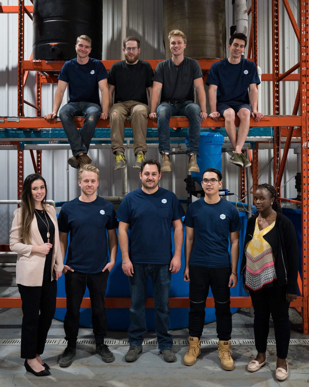 The Deepwater Farms team  (October 2018)