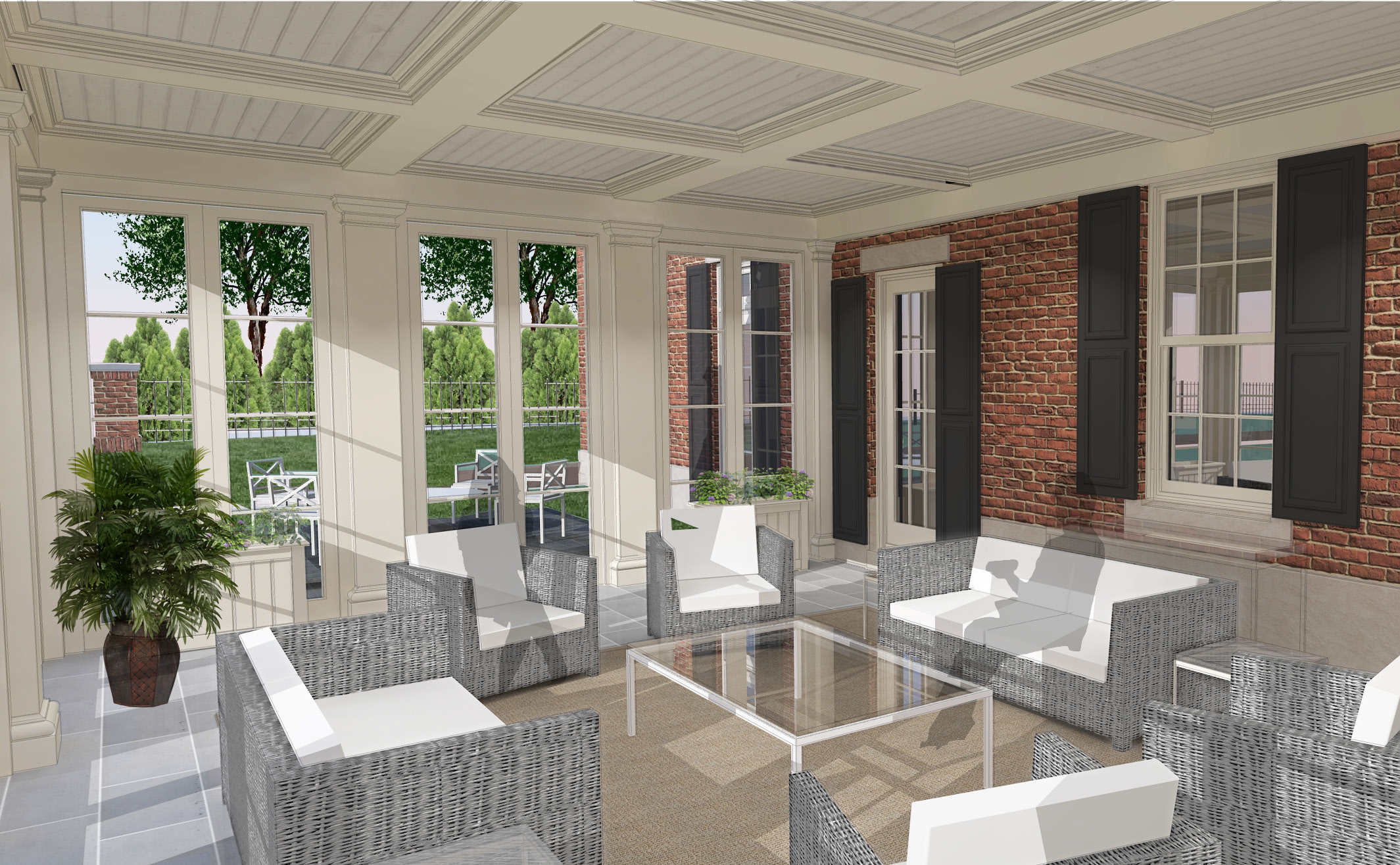 Beacon Place - Lake Forest Outdoor Patio
