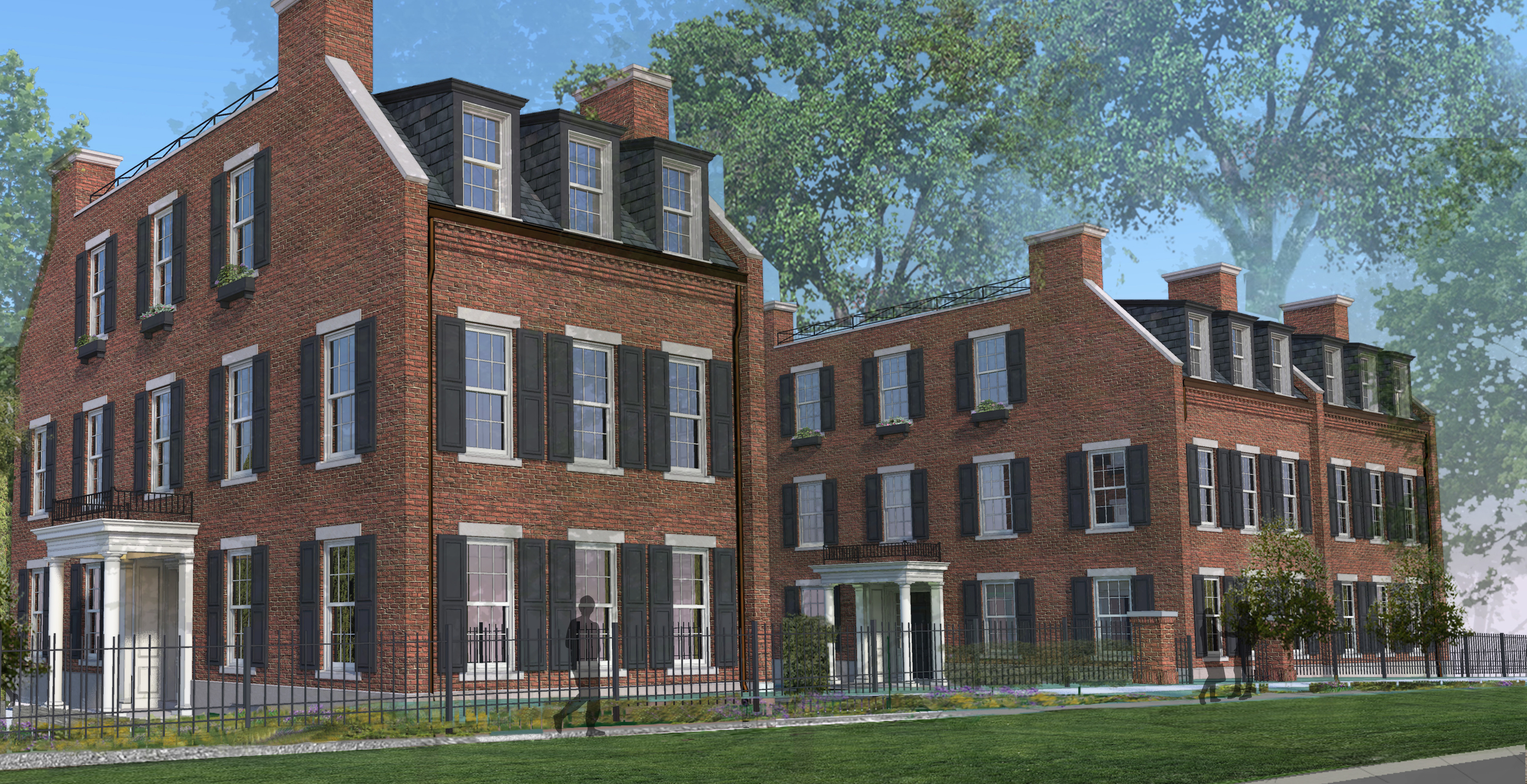Beacon Place - Lake Forest Exterior Render