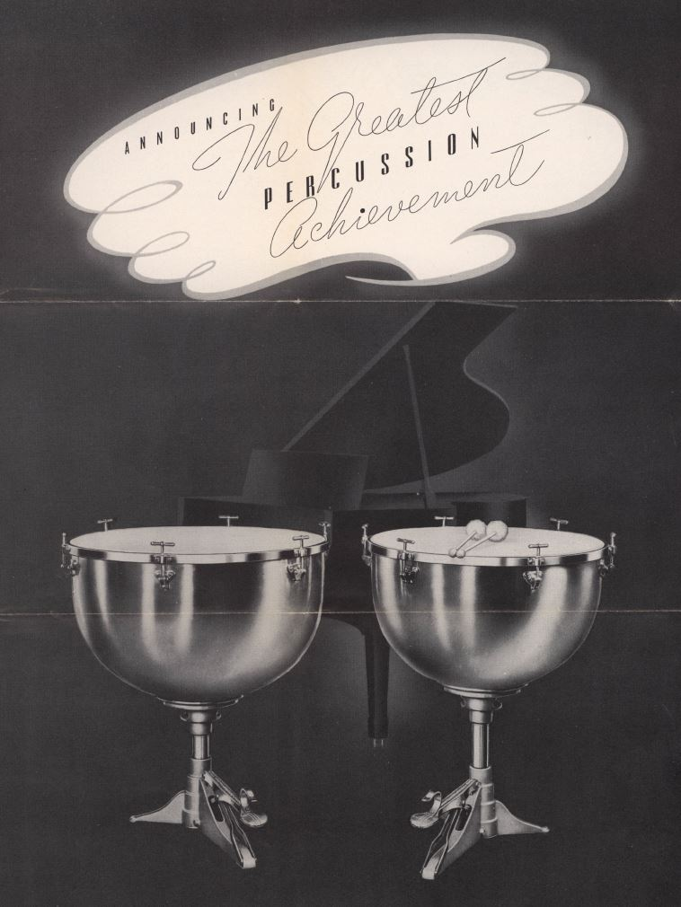 Ludwig catalogue cover, 1927