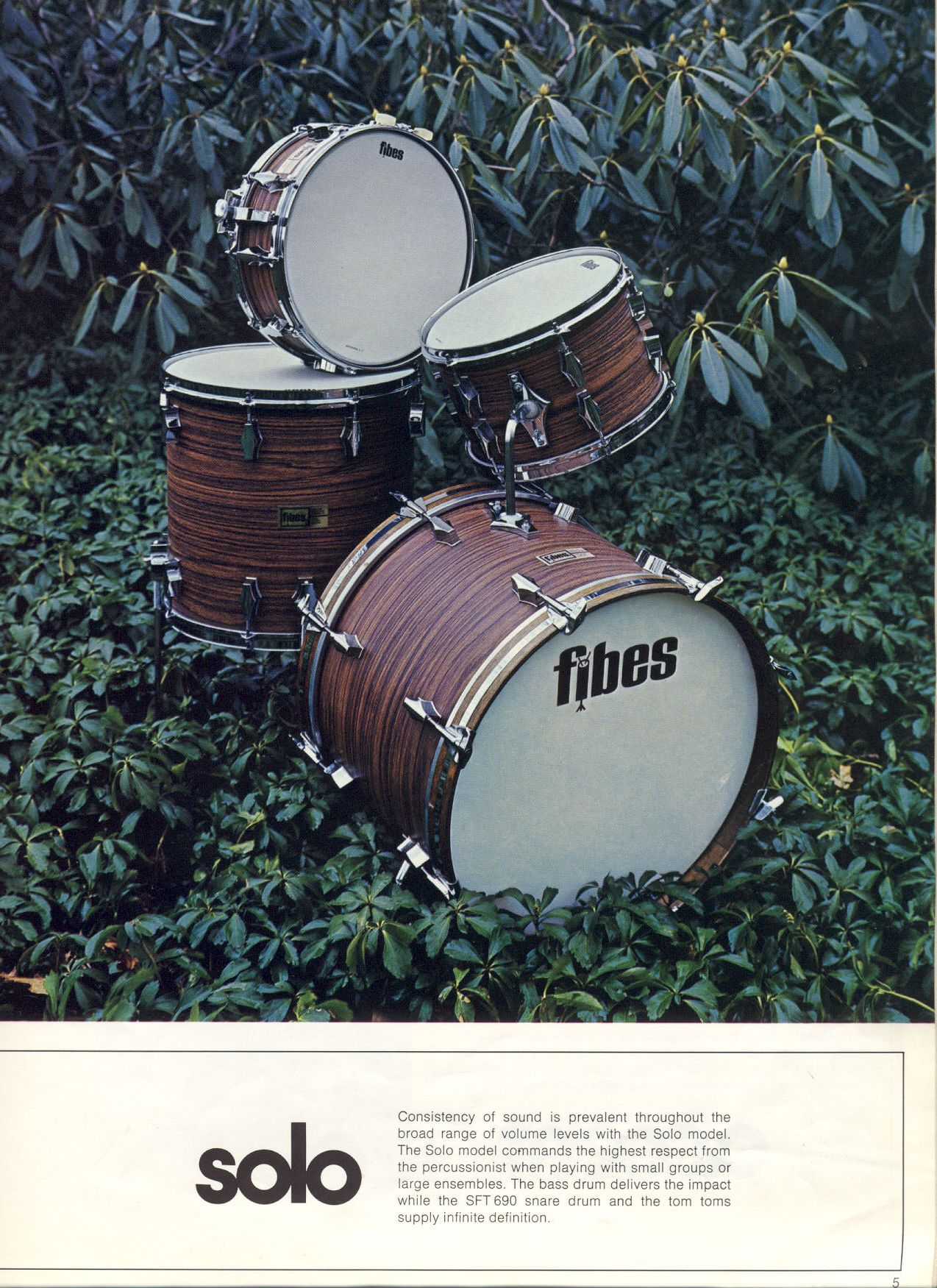 Fibes catalogue, 1972