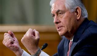 Tillerson offered the possibility of putting Cuba back on the list of countries that sponsor terrorism. (AP Photo/Steve Helber)