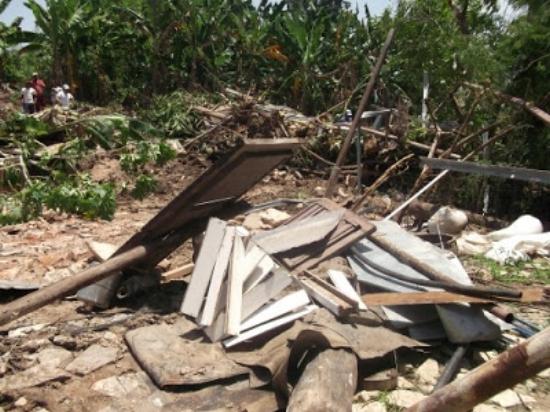 Ruins of demolished Restoring the Kingdom of God Temple in Santiago de Cuba