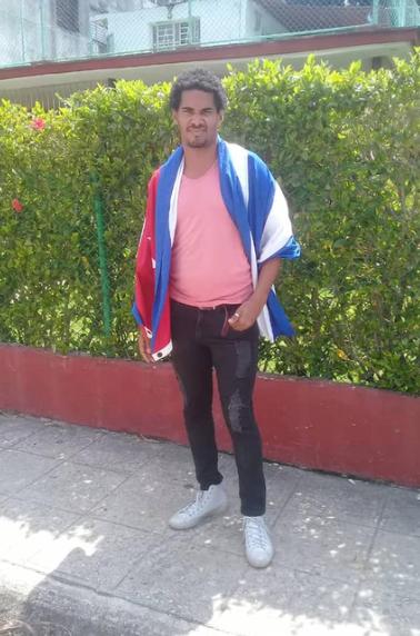 Luis Manuel Otero Alcantara.  Courtesy of Coco Fusco.