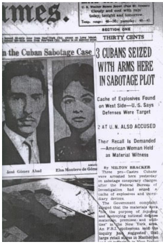 Cuban diplomats plotted bombing attack in NYC