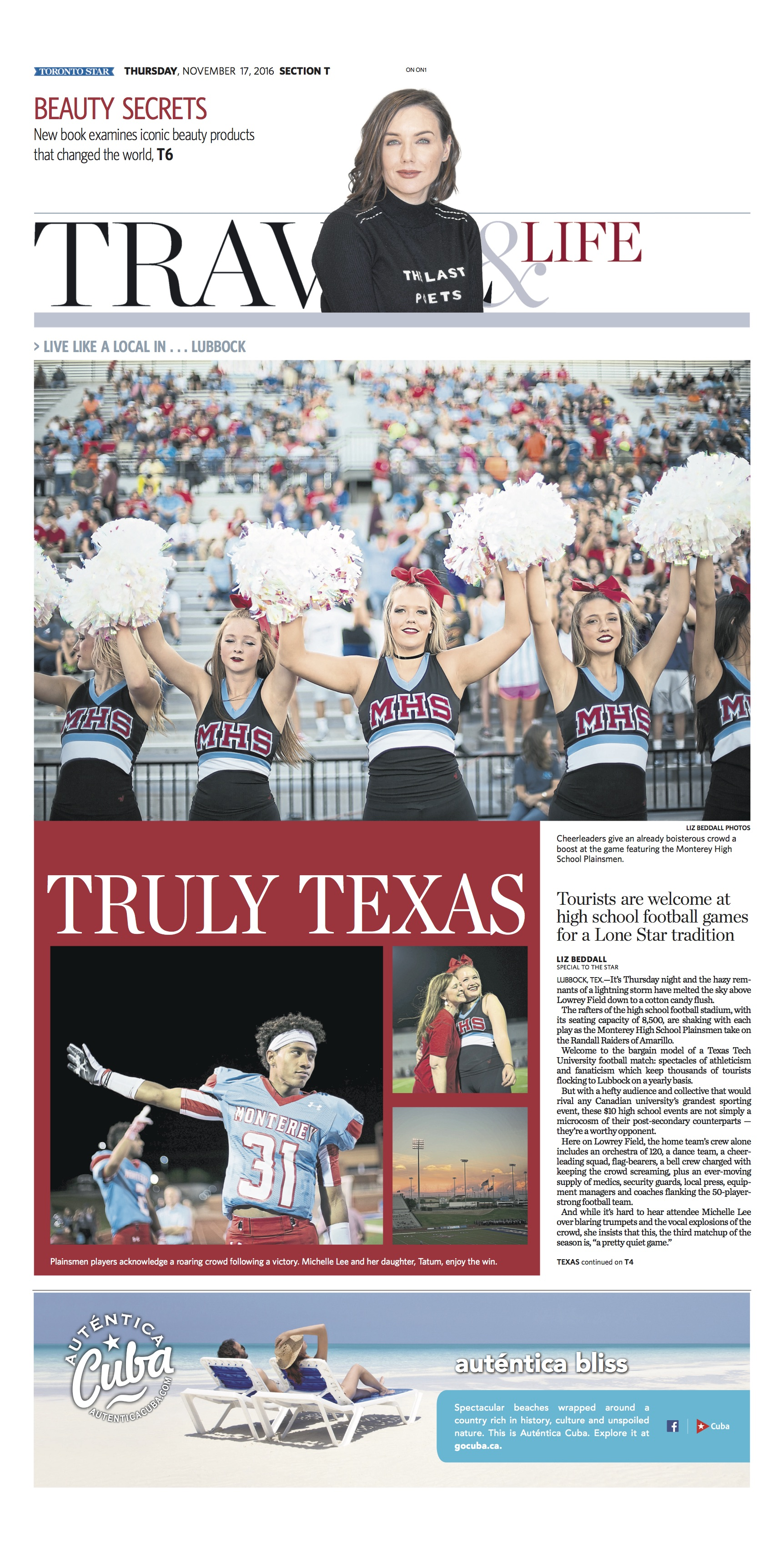 Lubbock Texas: Nov. 17, 2016