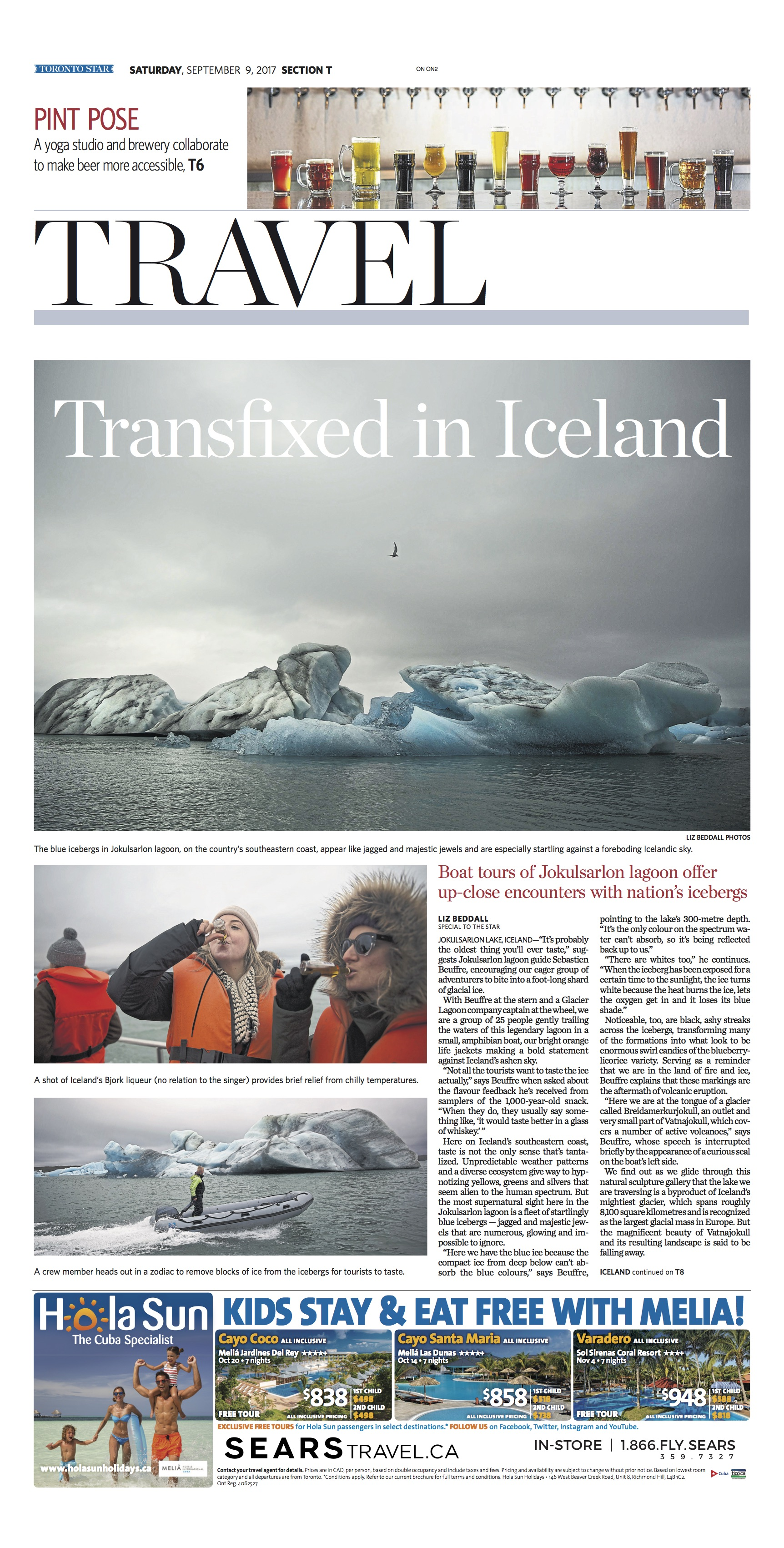 South Iceland, Iceland: Sept. 9, 2017