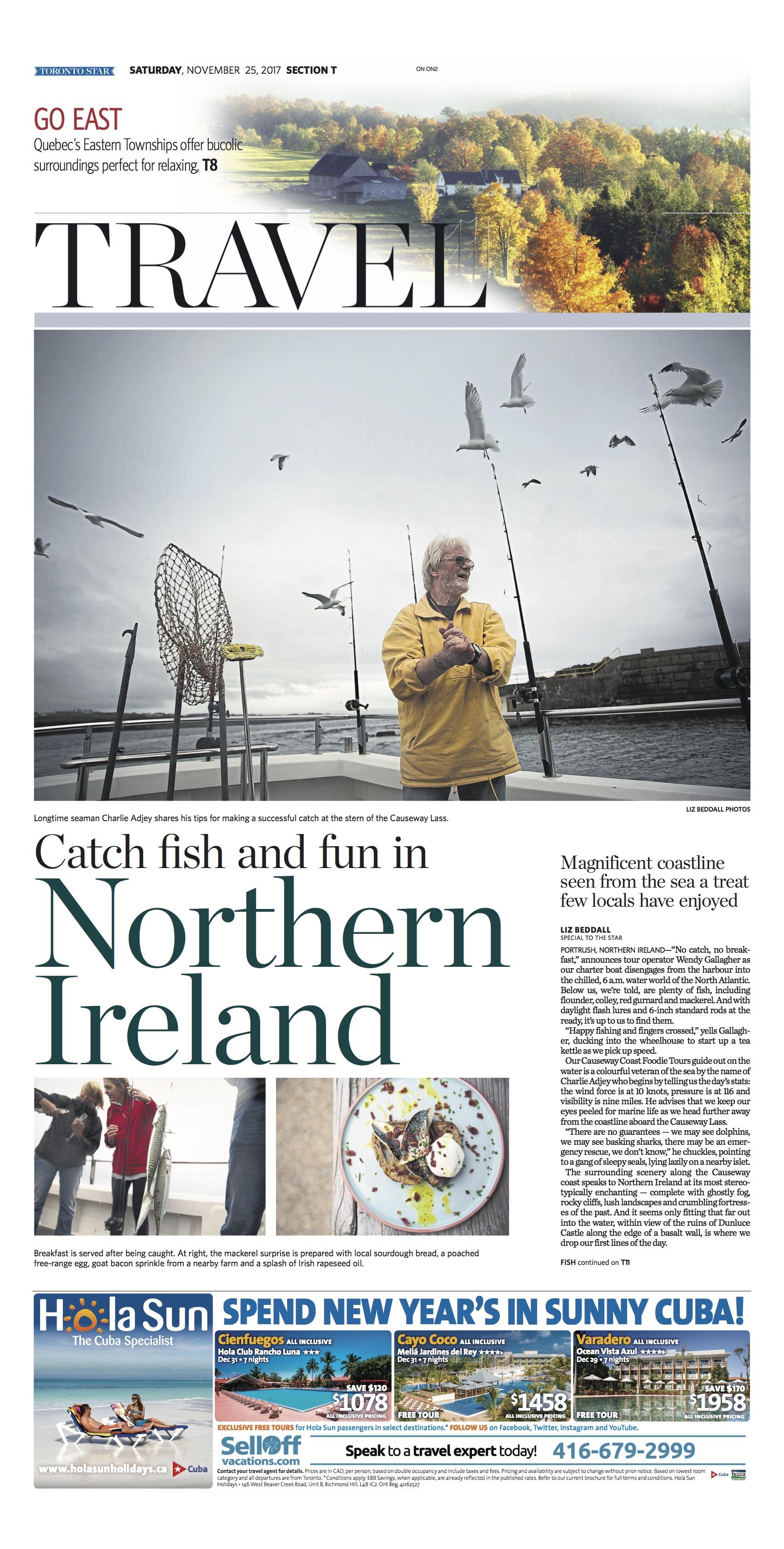 Northern Ireland, Ireland: Nov. 25. 2017