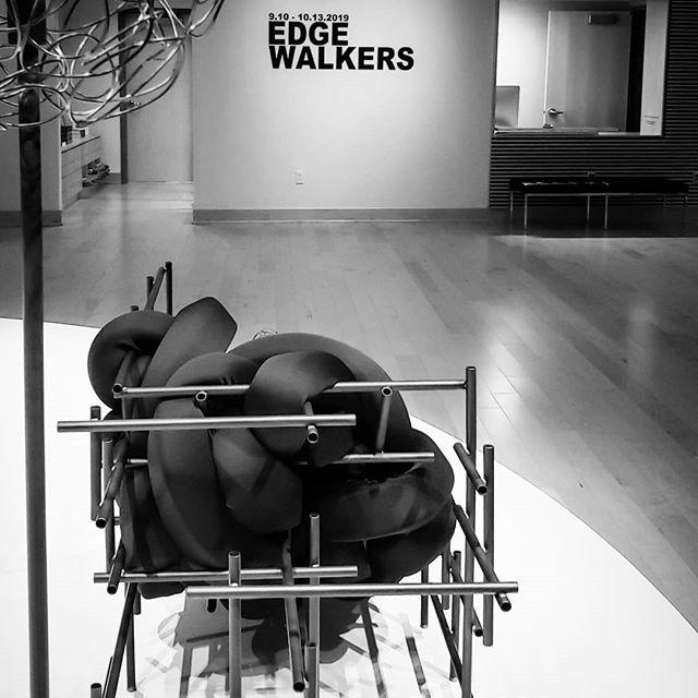 So excited for this exhibition! #edgewalkers @dukehallgallery @jmu_sadah #contemporaryart #contemporarydesign #finecraft