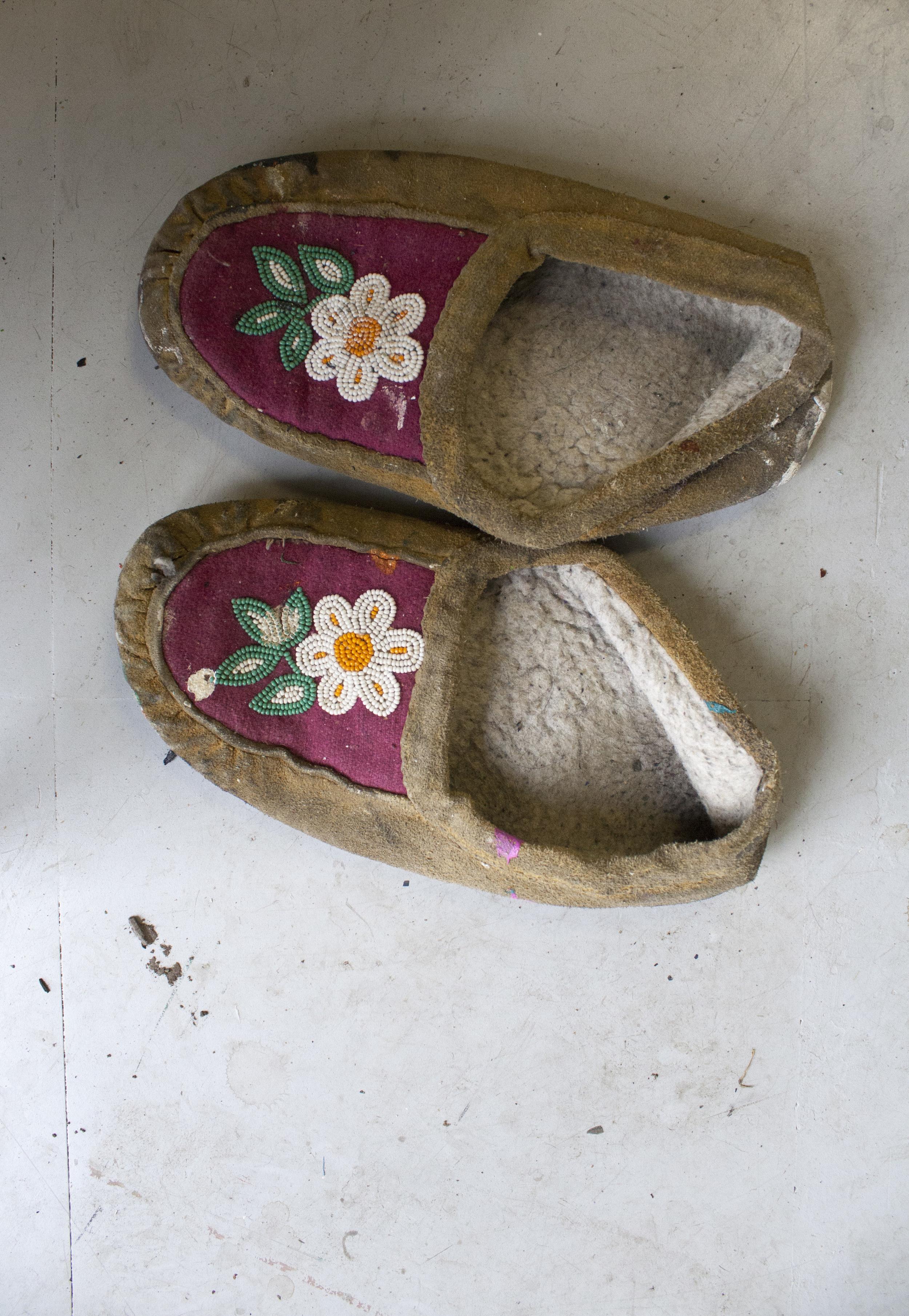 Studio slippers.