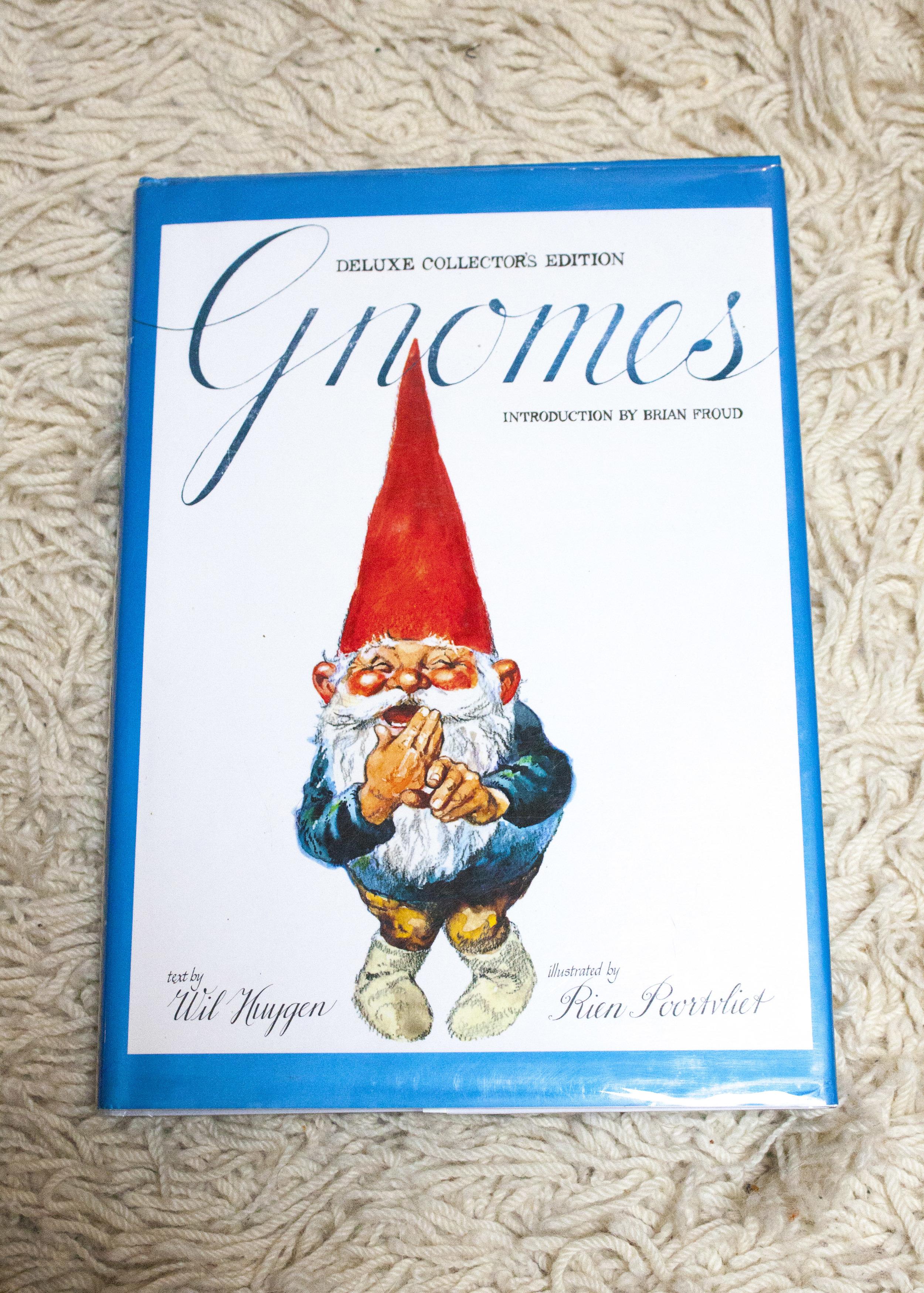 lovely gnome book. Found at Monkey's paw, rare and antique book shop on Dundas west.