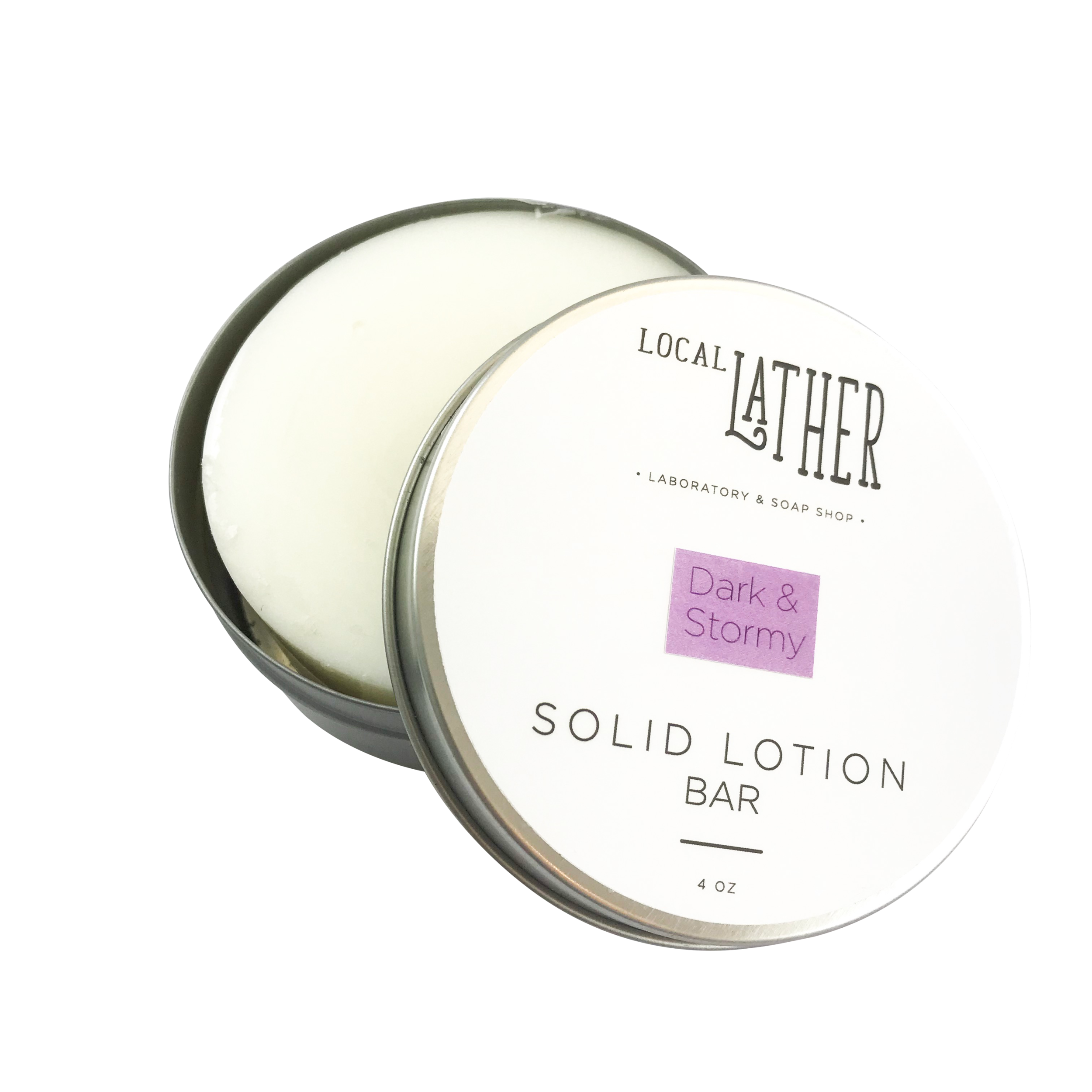 DARK & STORMY LOTION BAR — LOCAL LATHER SOAP SHOP