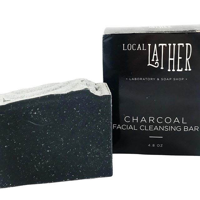 • C H A R C O A L •  F A C I A L •  B A R  5 + oz. $ 14.99  Our Charcoal Cleansing Bar detoxifies & absorbs impurities in your skin without drying it out.  Made with activated charcoal, bentonite clay, shea butter, & essential oils of lavender & tea tree, this gentle formula can be used daily on your face and body.  created to give you a smoother, brighter, healthier-looking complexion—and who doesn't want that?  All Natural Phthalate Free