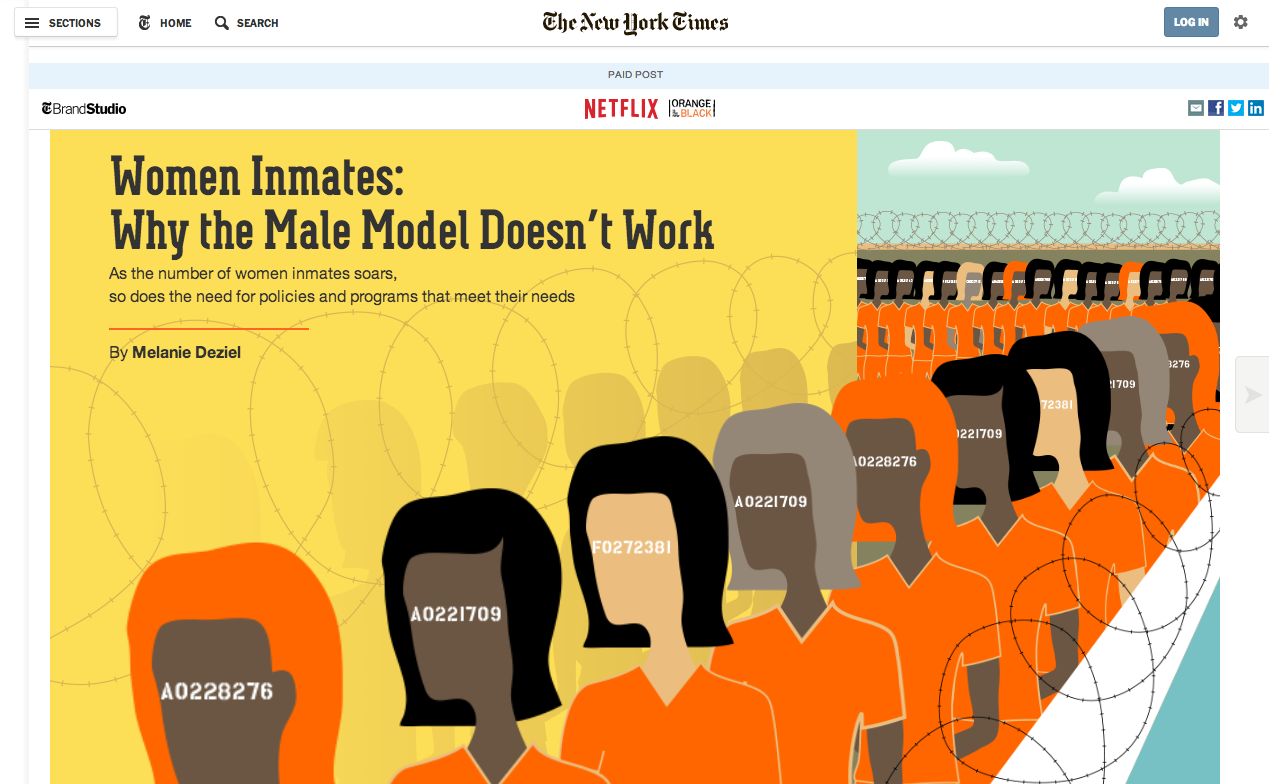 NYT Orange is New Black