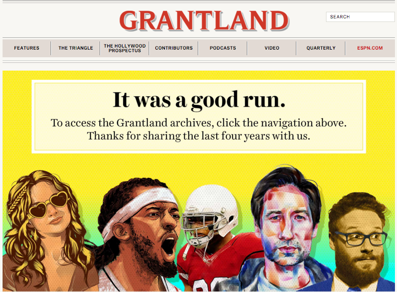 Grantland Screenshot