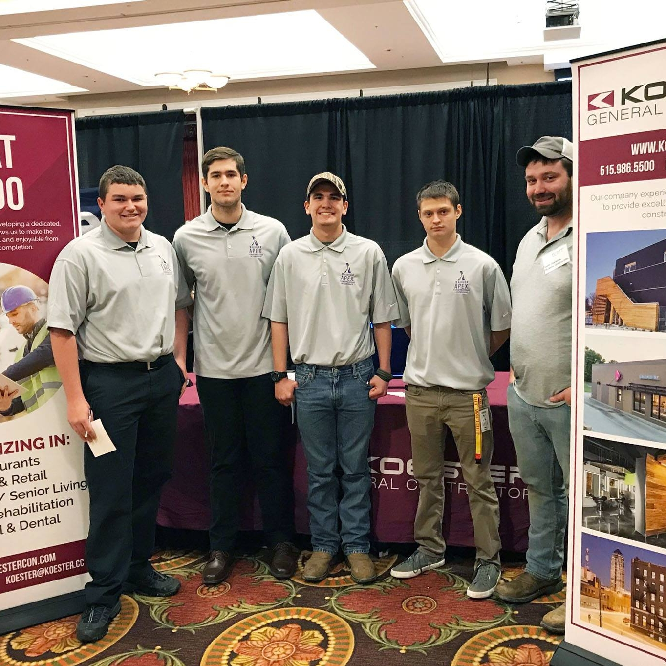 April 17, 2018   Yesterday we talked with over 150 students at the  Build Iowa  Career Fair! We are inspired by the next generation looking to build their future in the construction industry. Thanks to  Master Builders of Iowa  for hosting this great event!