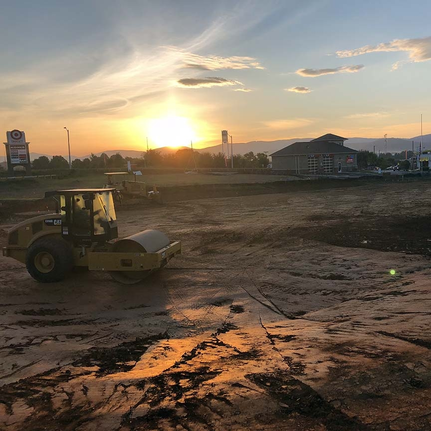 August 31, 2018   Happy Friday from Waynesboro, Virginia. We have officially entered double digits for the number of projects we've worked on with Discount Tire. Waynesboro marks the start of our 11th Discount Tire store as we wrap up site grading and prepare to pour building footings next week.