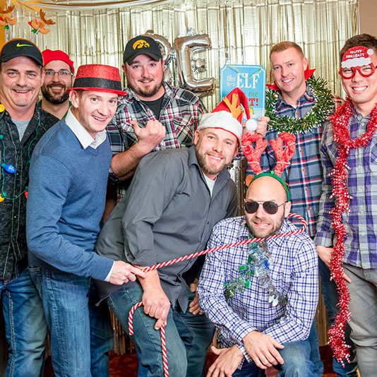 December 14, 2018   Another fantastic Koester Construction Christmas party! We had a great evening celebrating our team members and their families. Special shout out to Joe Rubes, the winner of this year's Mike Koester Award.