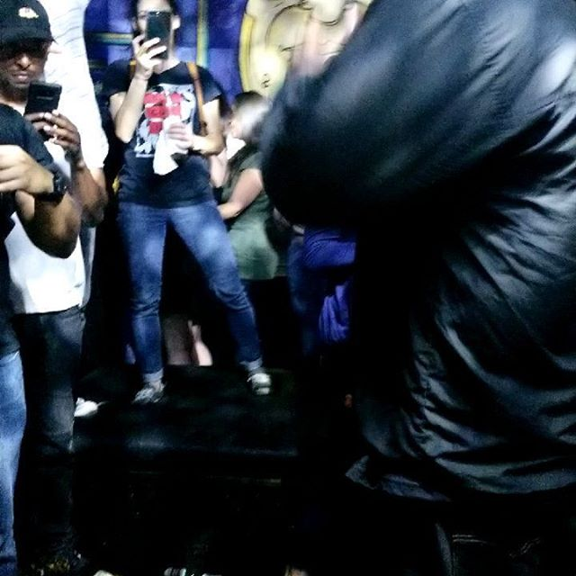 #krsone @teacha_krsone rippin it live all up in my grill with mad skillz #hiphop #oldschool #westpalmbeach #respectablestreet