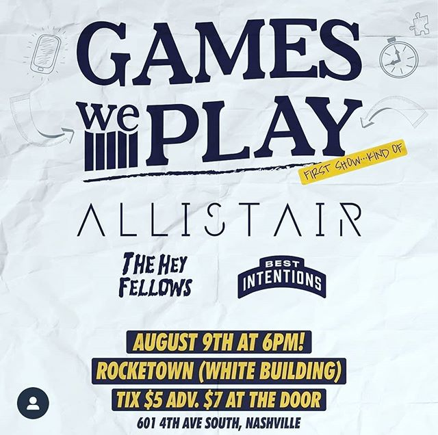 well what do you know?! here we go again! #gamesweplay4ever #gamesweplay #jmboriginal #poppunk