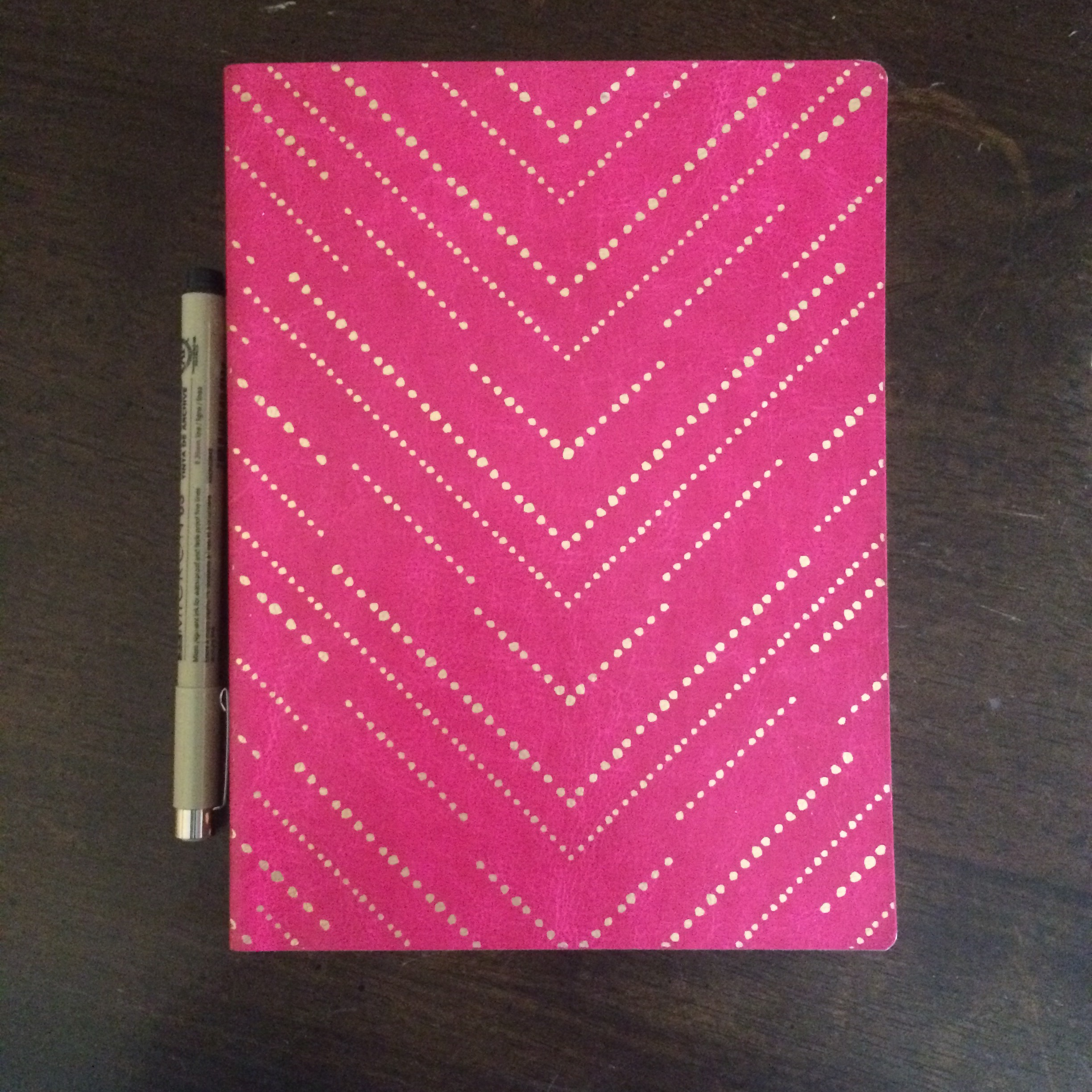 My notebook of choice for my current Bullet Journal! I snagged this one at Target.