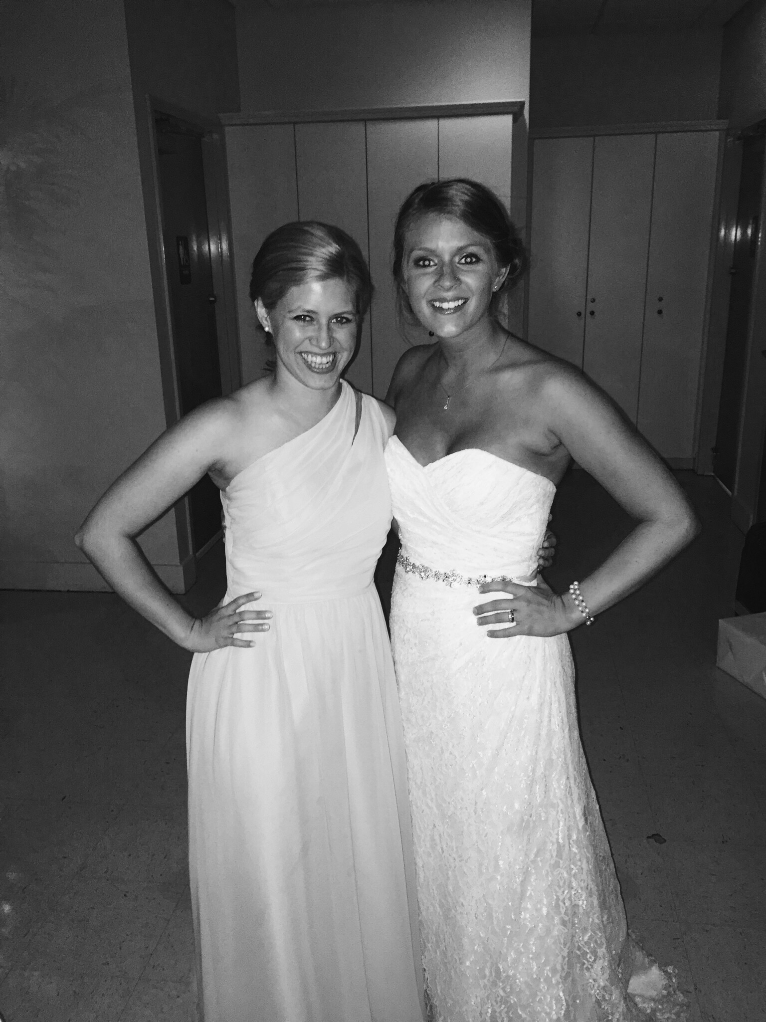 The gorgeous Bride and I!