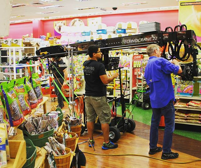 The New Technocrane 22 getting help shopping after a long day of shooting. . . . . #camera #technocrane #supertechnocrane #dp #dırectorofphotography #gettheshot #producer #onset #setlife #bts #cinema #cinematography #photooftheday #cameraoperator #cameraassistant #hardwork #asc #alexa #production #productionlife #goals #market #hardlife #filmmaking #gettingitdone #crewlife  #goodvibes #instagood #shopping
